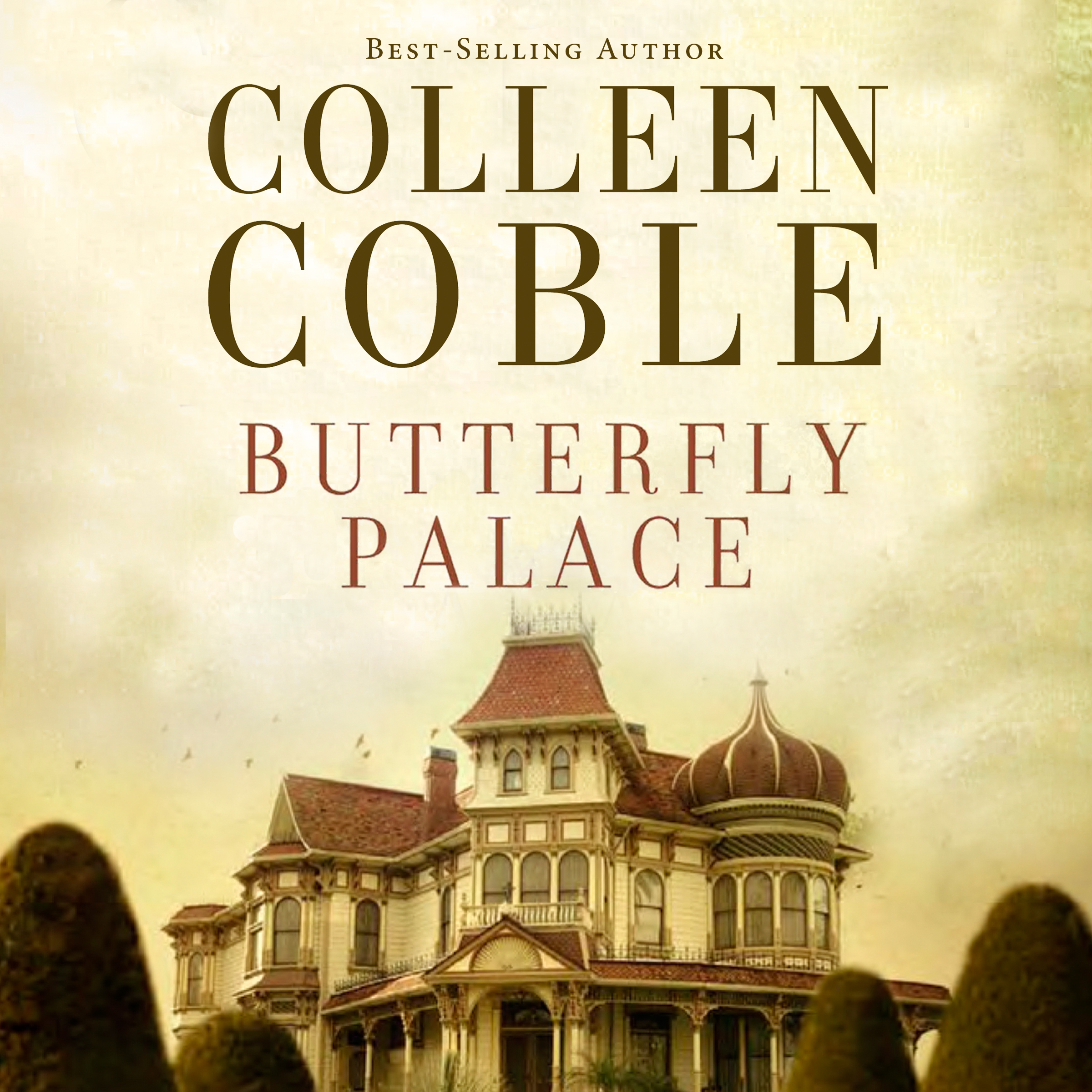 Printable Butterfly Palace Audiobook Cover Art
