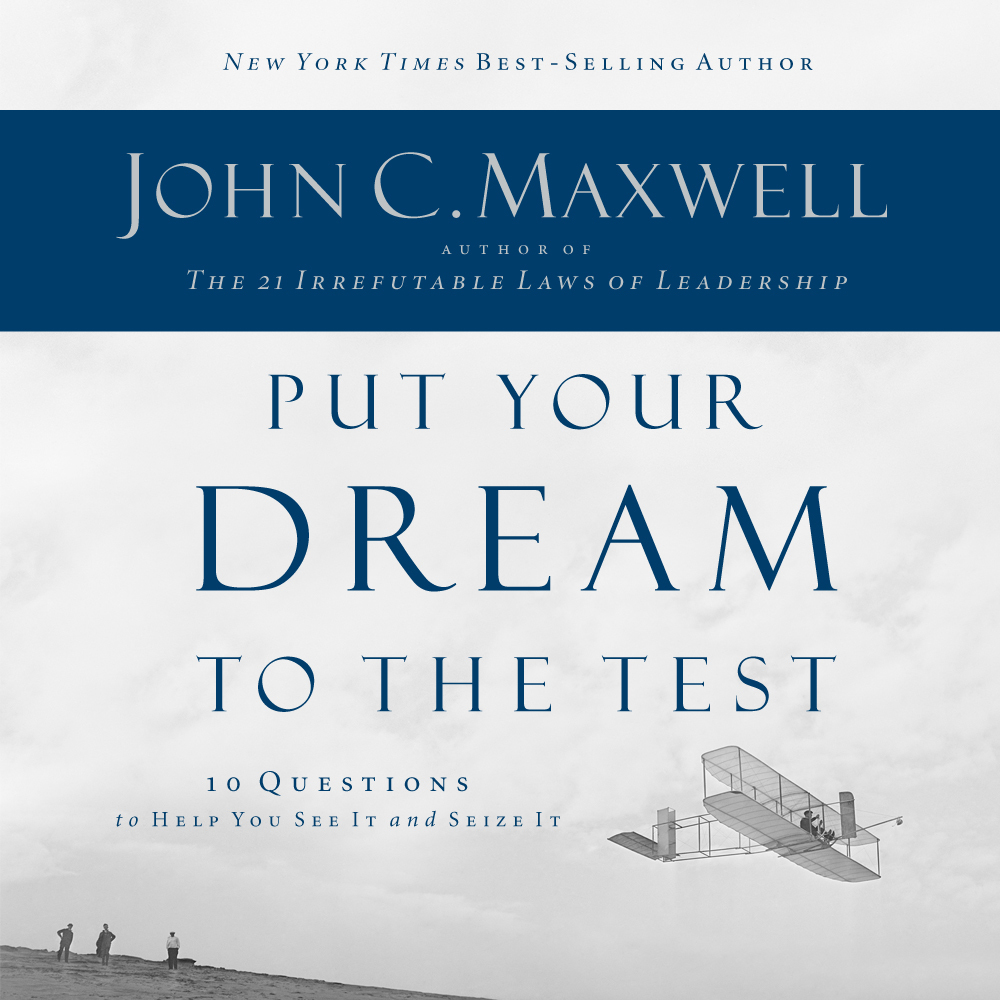 Printable Put Your Dream to the Test: 10 Questions that Will Help You See It and Seize It Audiobook Cover Art