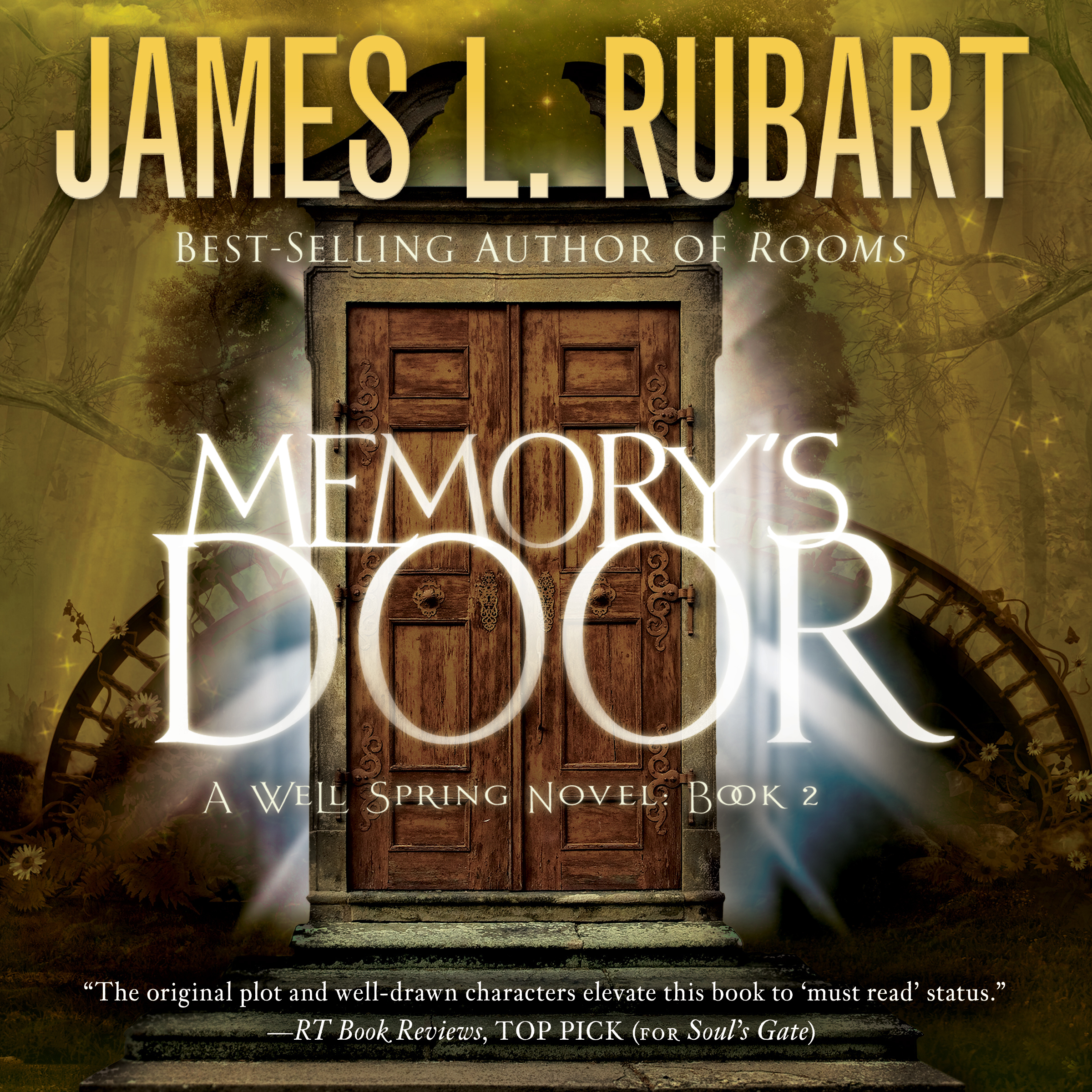 Printable Memory's Door Audiobook Cover Art