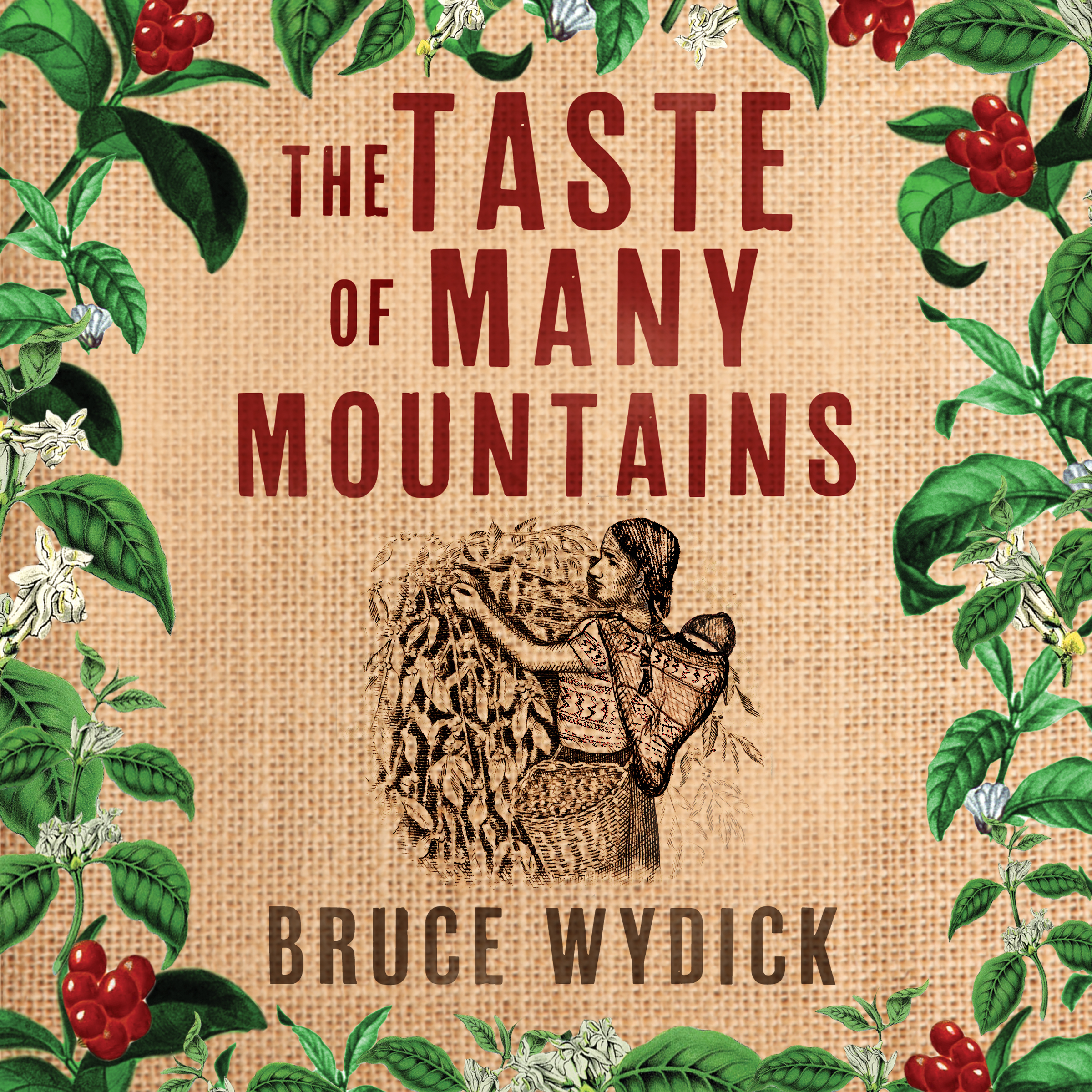 Printable The Taste of Many Mountains Audiobook Cover Art