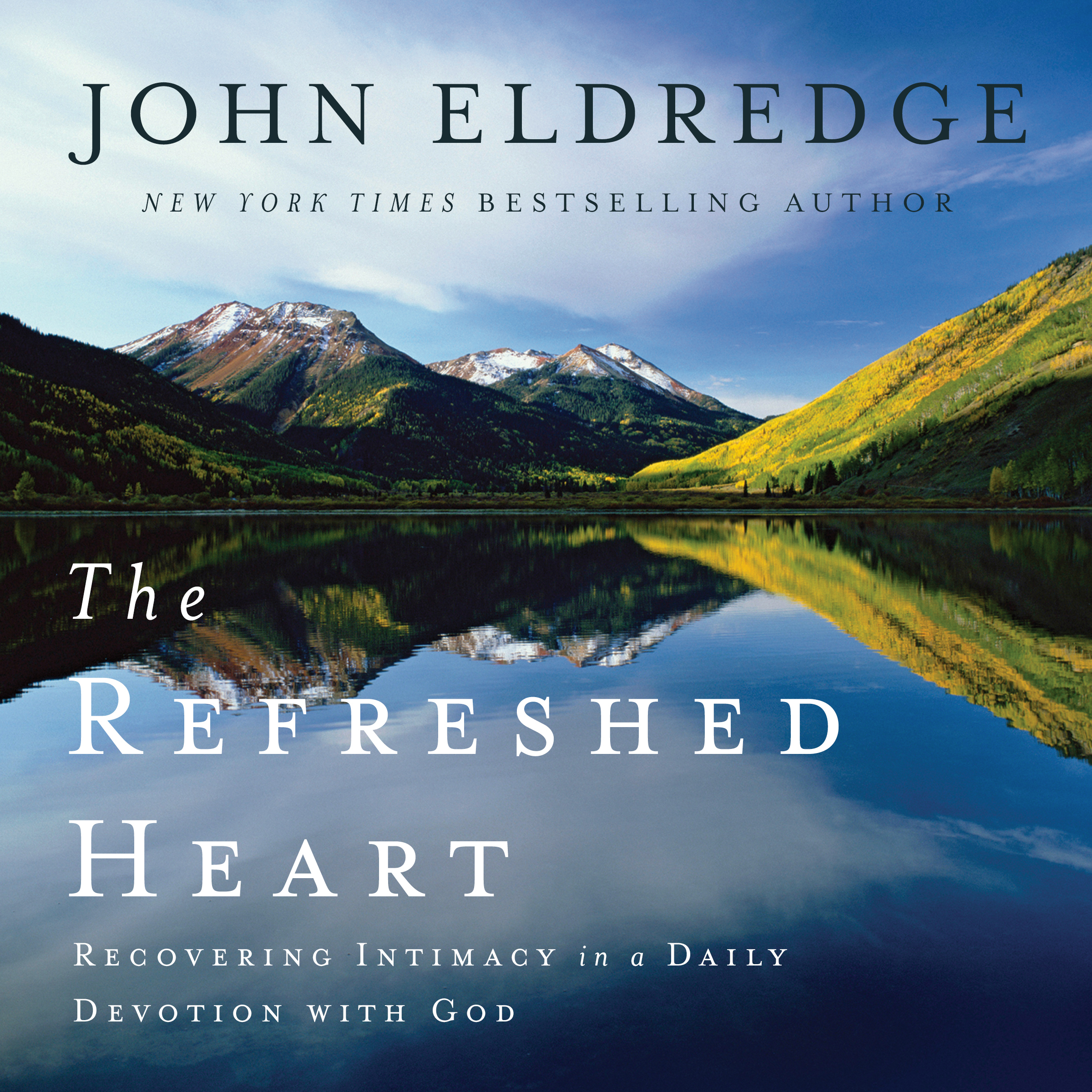 Printable The Refreshed Heart: Recovering Intimacy in a Daily Devotion With God Audiobook Cover Art