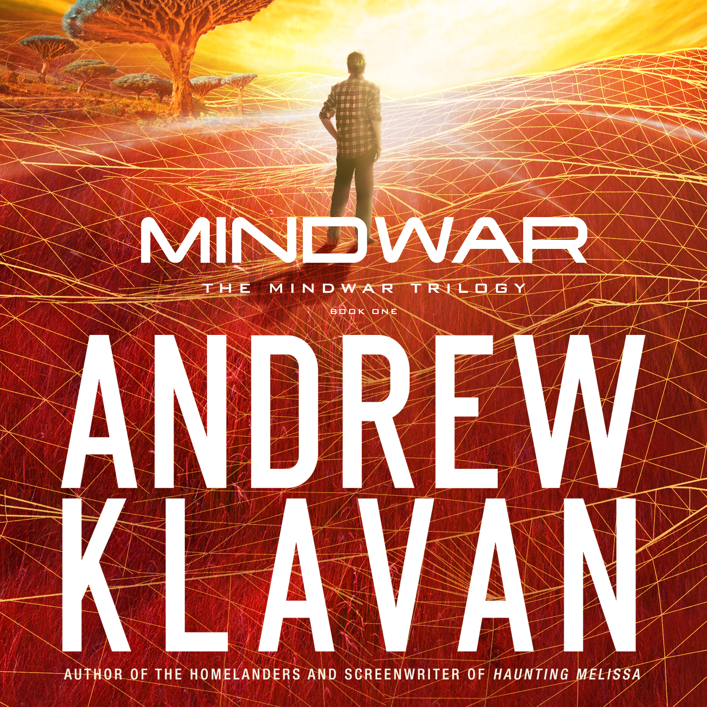Printable MindWar Audiobook Cover Art
