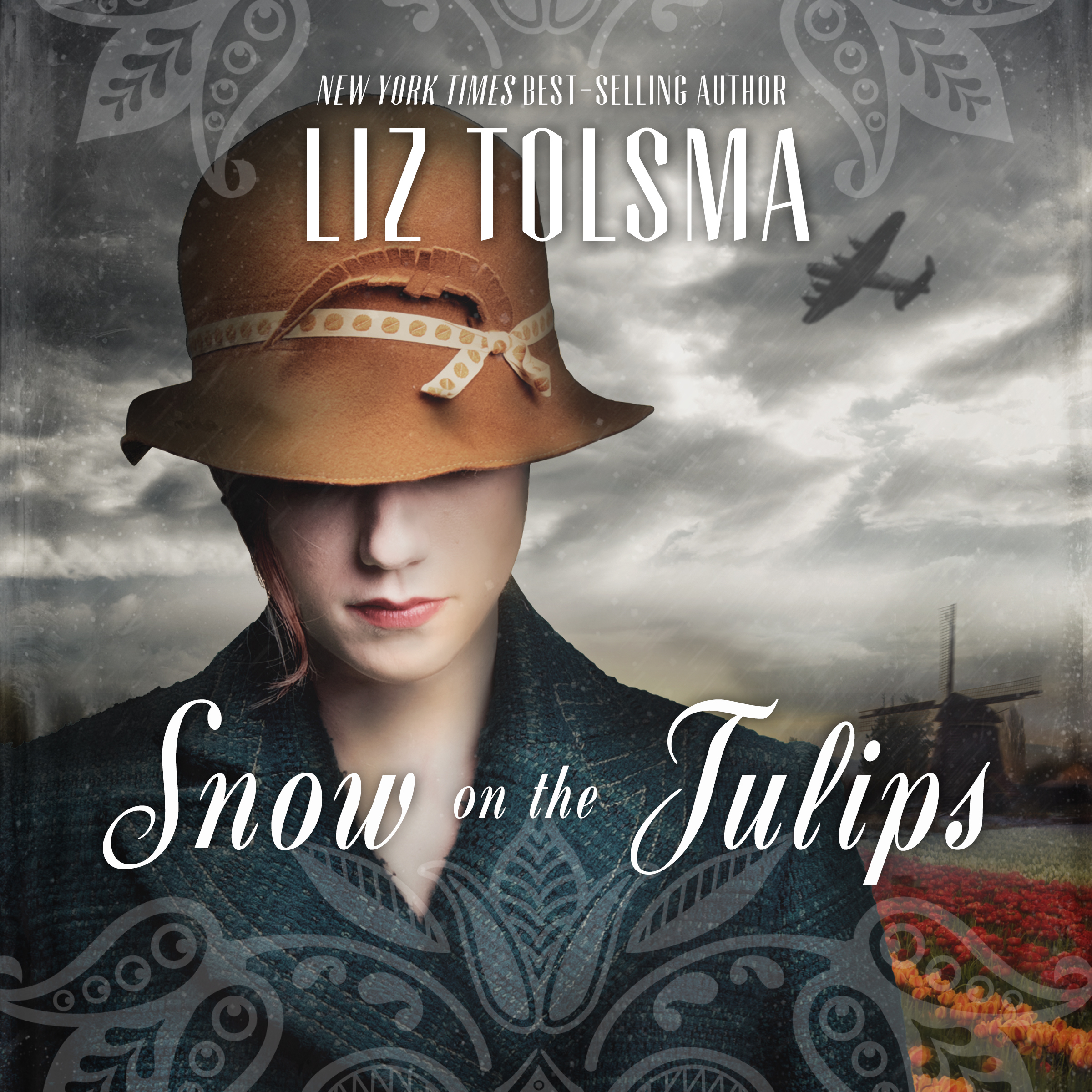 Printable Snow on the Tulips Audiobook Cover Art