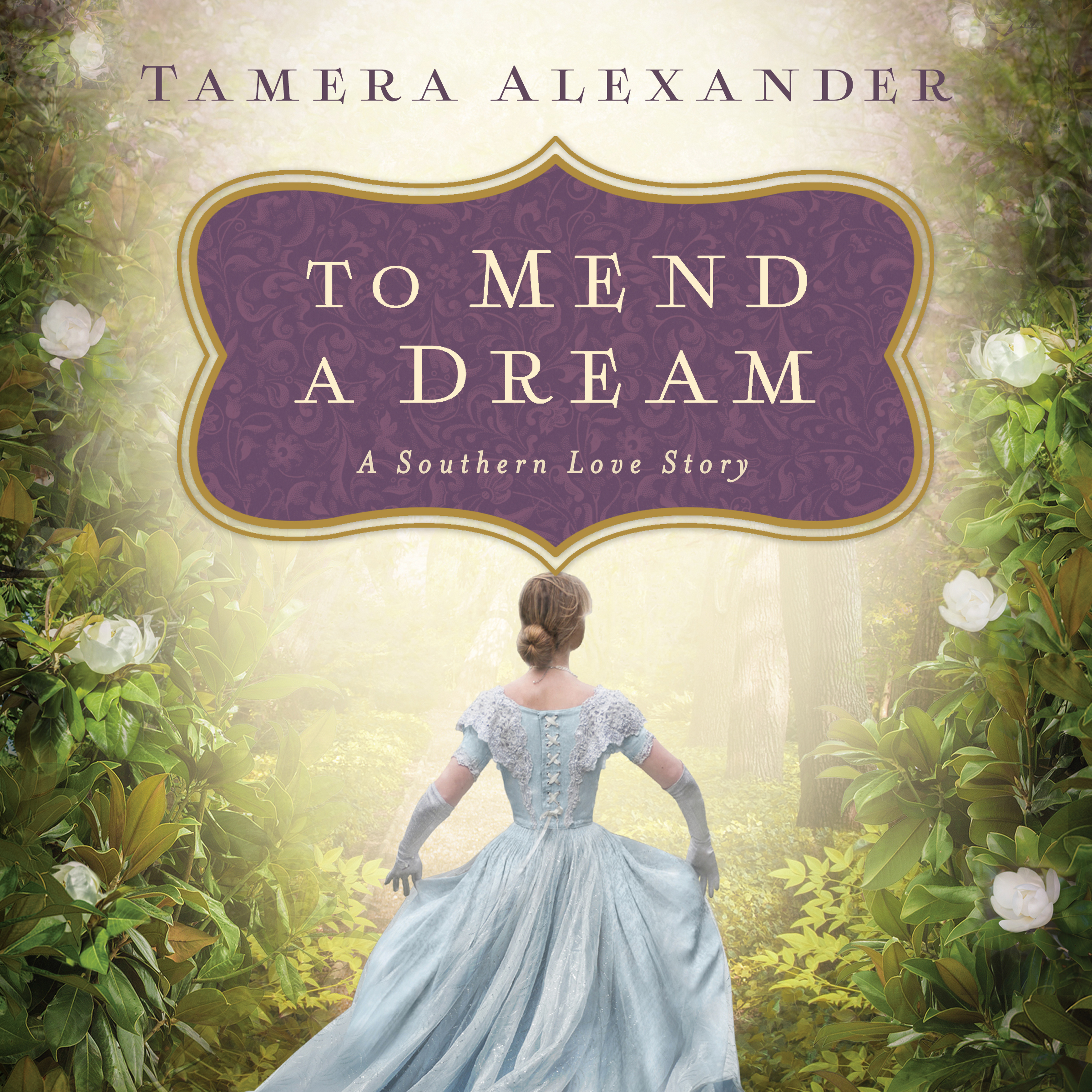 Printable To Mend a Dream: A Southern Love Story Audiobook Cover Art