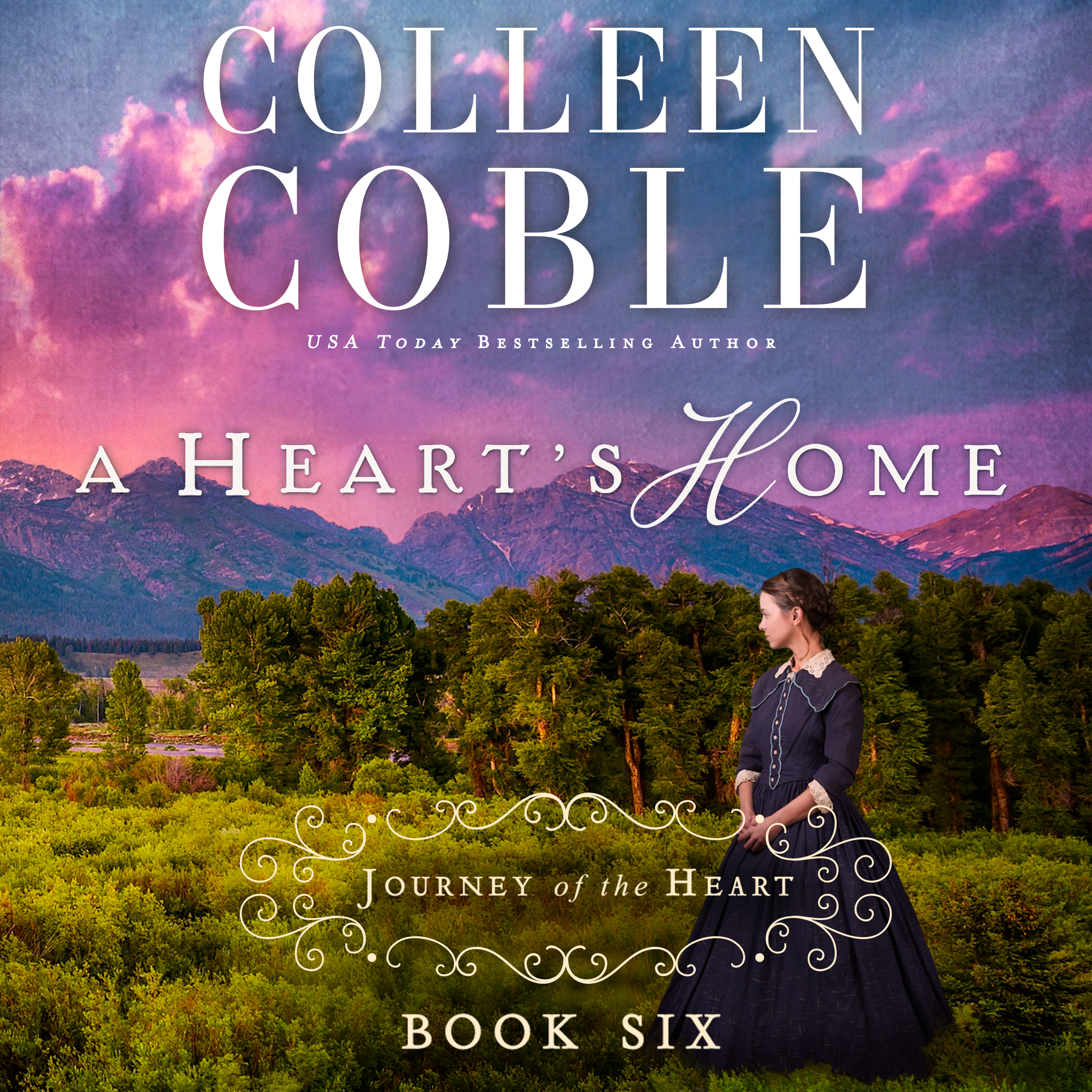 Printable A Heart's Home: A Journey of the Heart Audiobook Cover Art