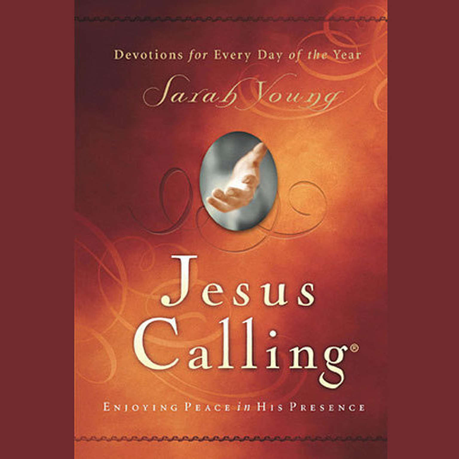 Printable Jesus Calling: Enjoying Peace in His Presence Audiobook Cover Art