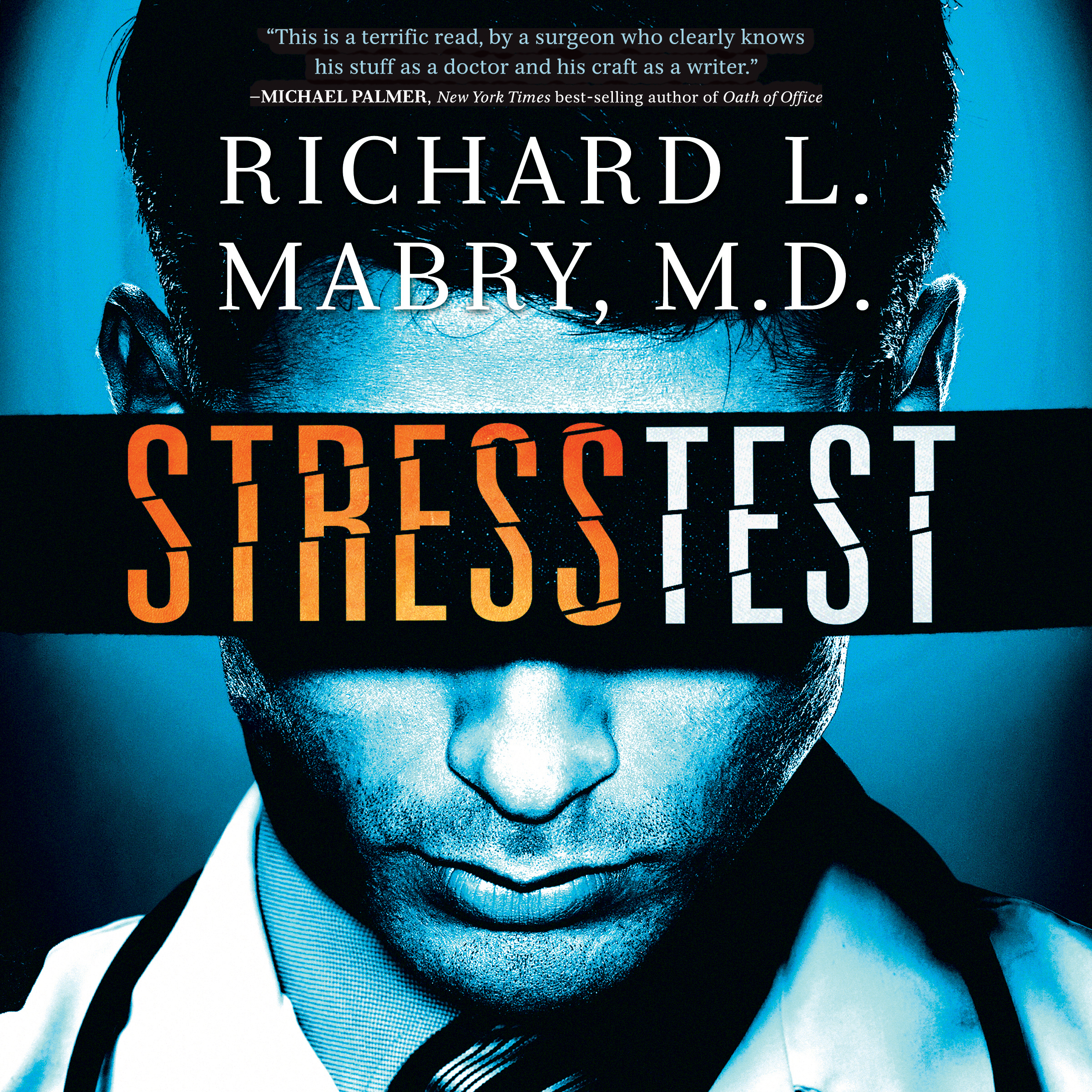Printable Stress Test Audiobook Cover Art