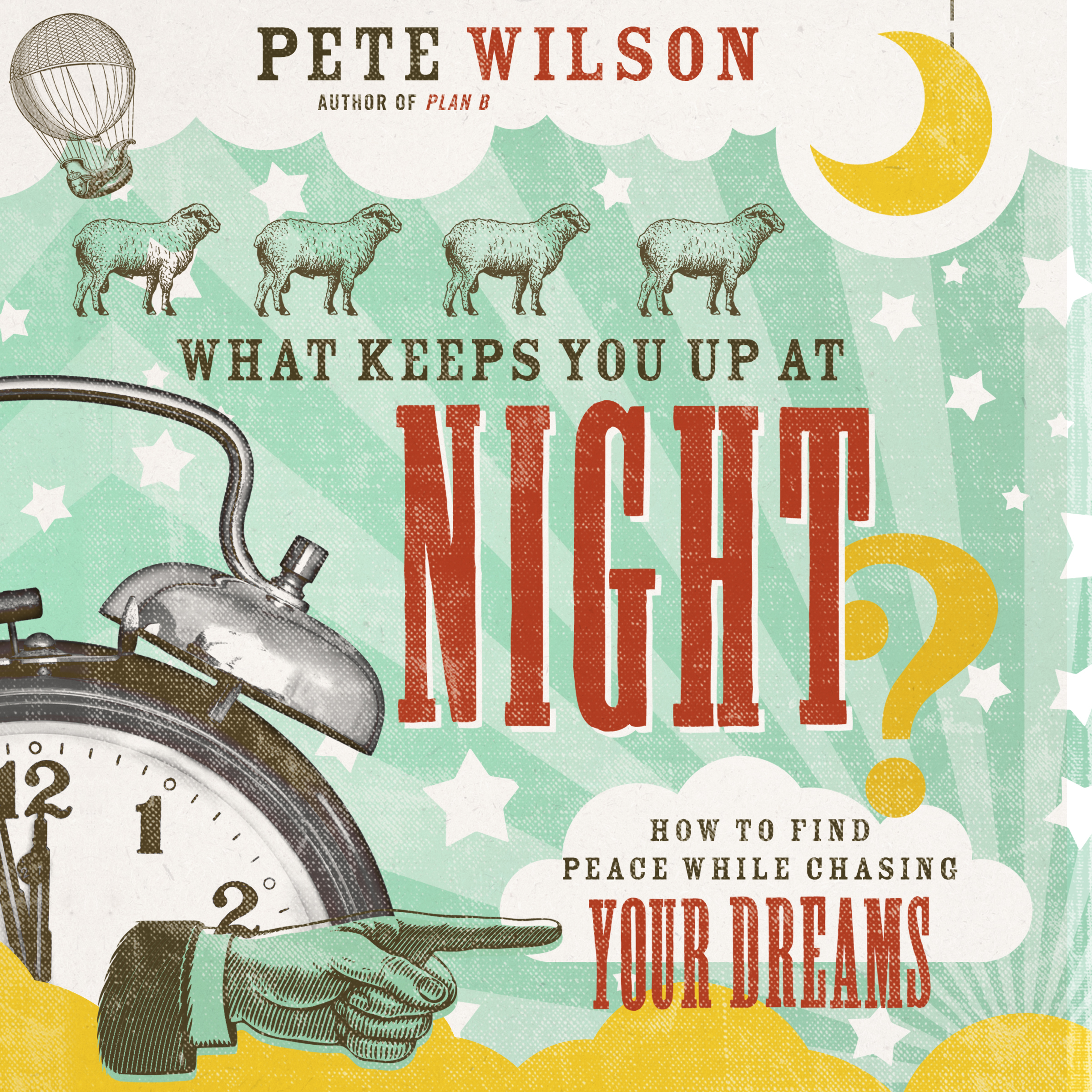 Printable What Keeps You Up at Night?: How to Find Peace While Chasing Your Dreams Audiobook Cover Art