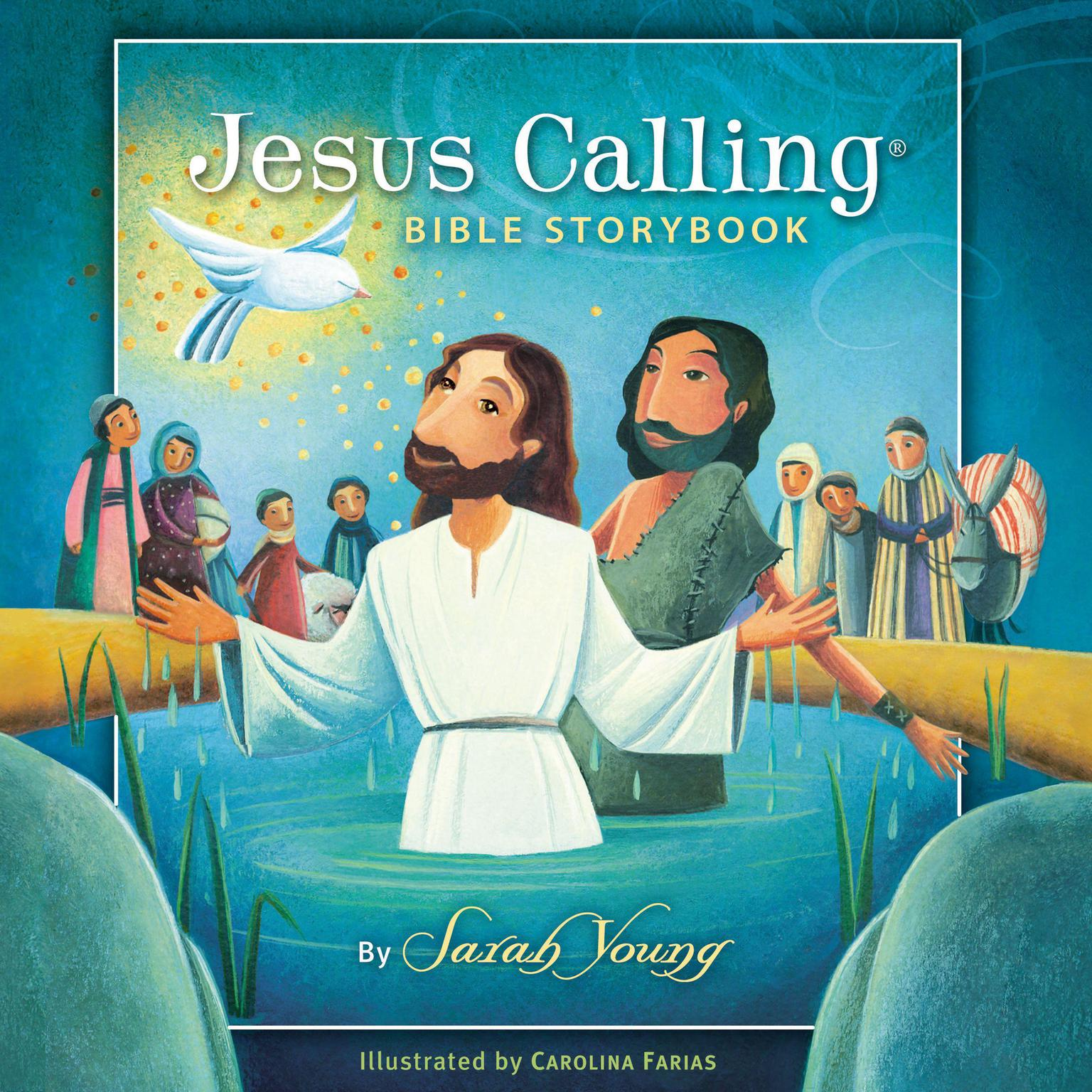 Printable Jesus Calling Bible Storybook Audiobook Cover Art
