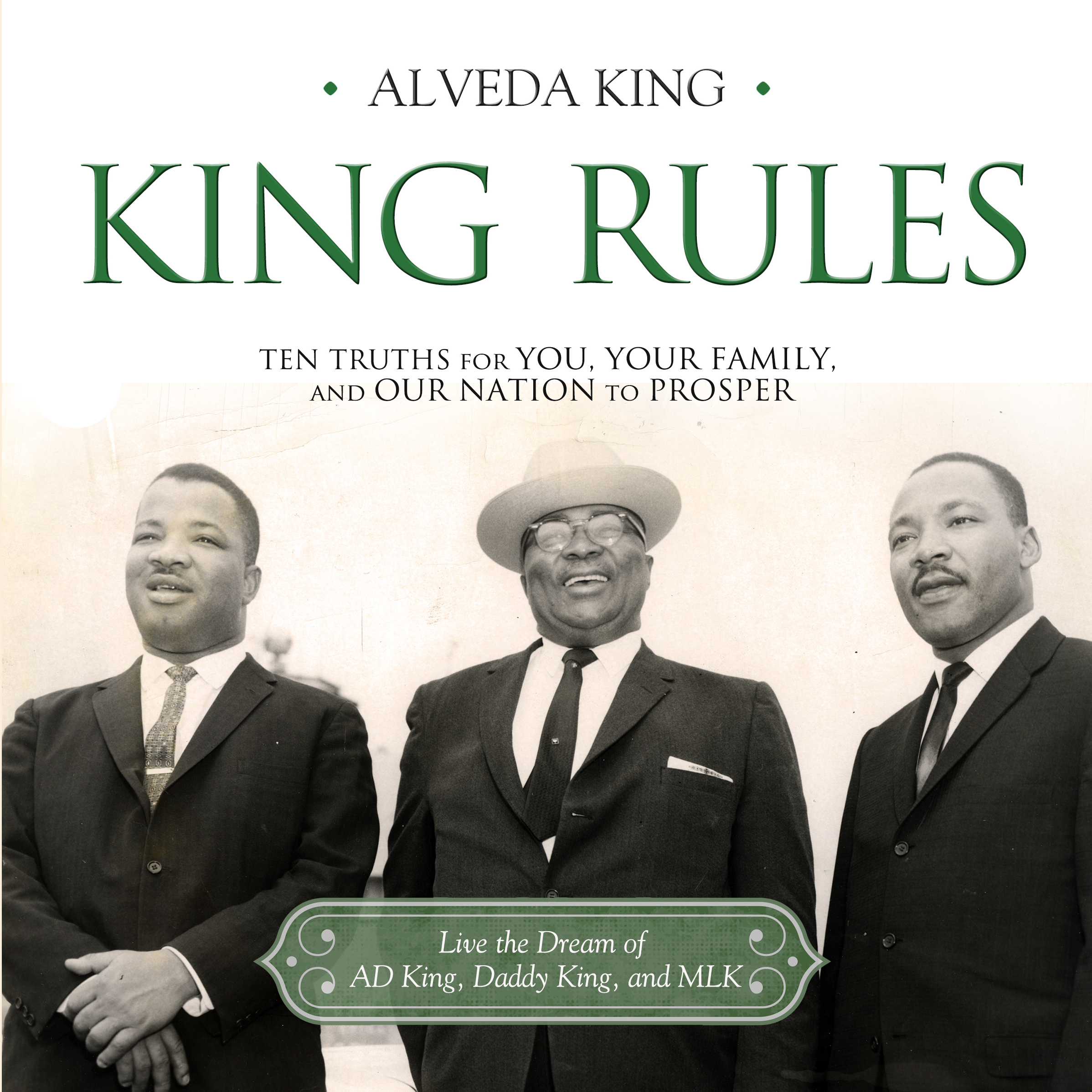 Printable King Rules: Ten Truths for You, Your Family, and Our Nation to Prosper Audiobook Cover Art