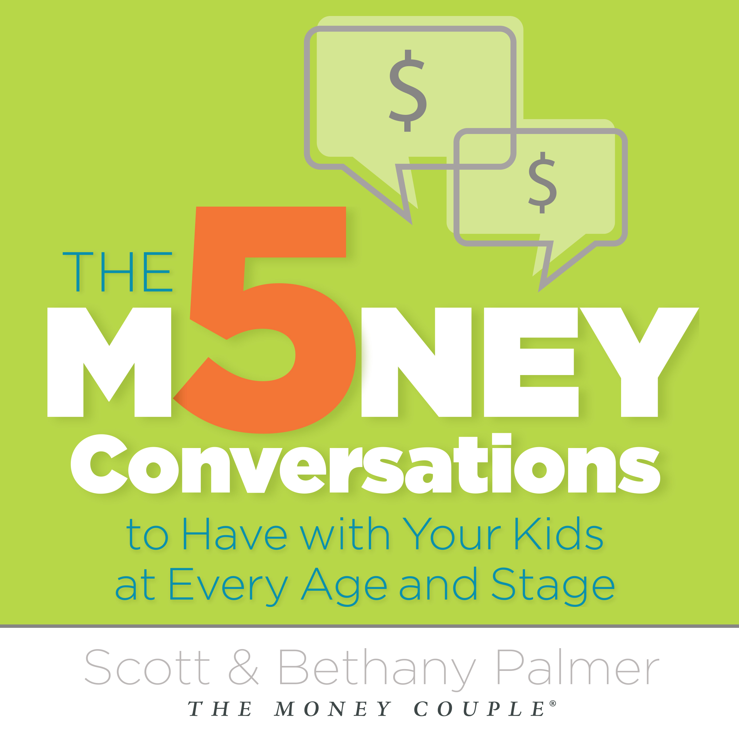 Printable The 5 Money Conversations to Have with Your Kids at Every Age and Stage Audiobook Cover Art