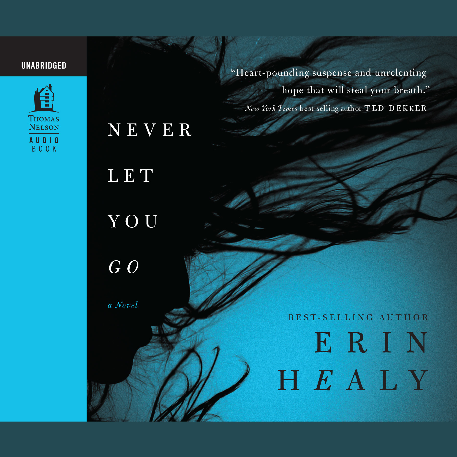 Printable Never Let You Go: Audio Book Audiobook Cover Art