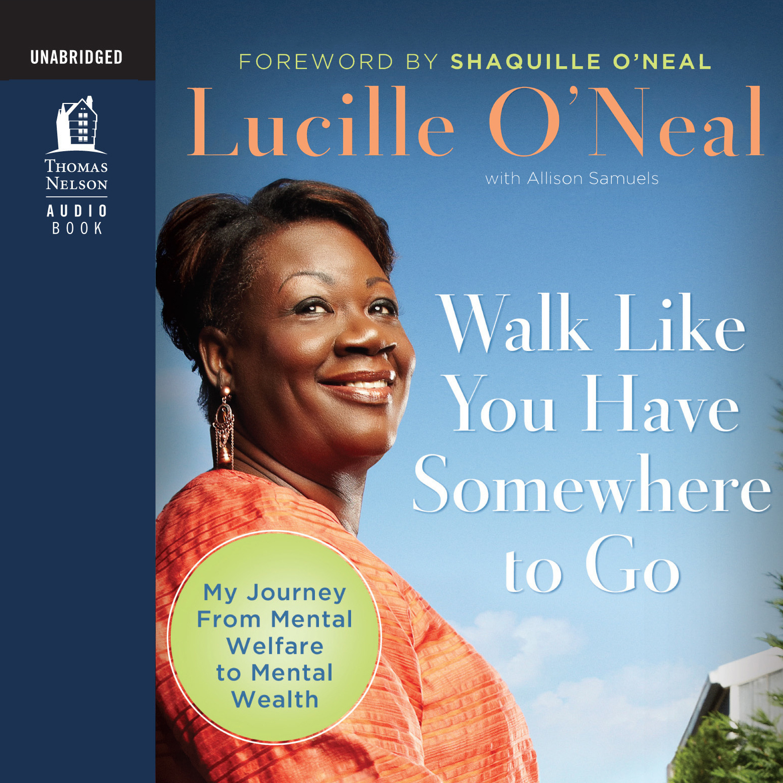 Printable Walk like You Have Somewhere to Go: My Journey from Mental Welfare to Mental Health Audiobook Cover Art