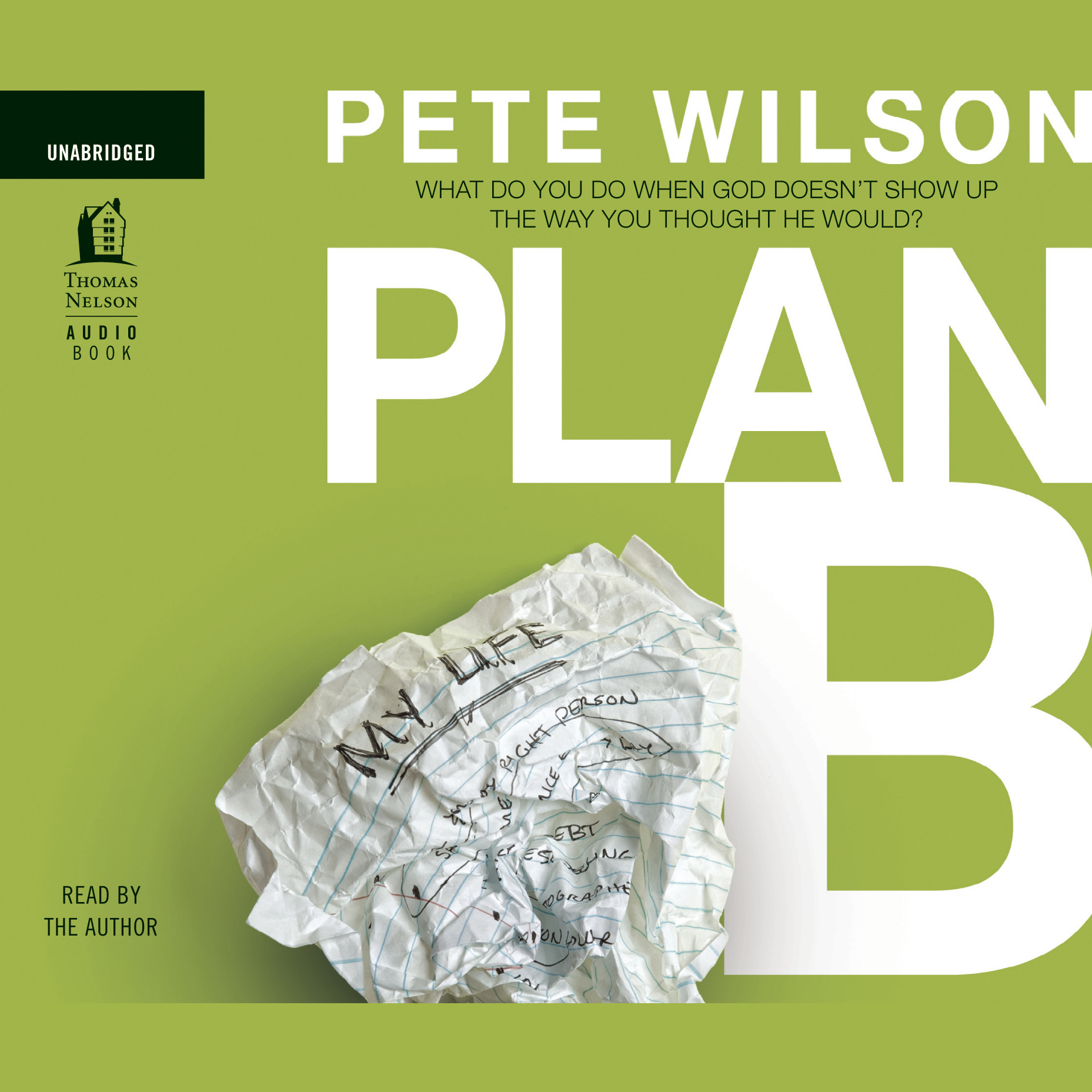 Printable Plan B: What Do You Do When God Doesn't Show Up the Way You Thought He Would? Audiobook Cover Art