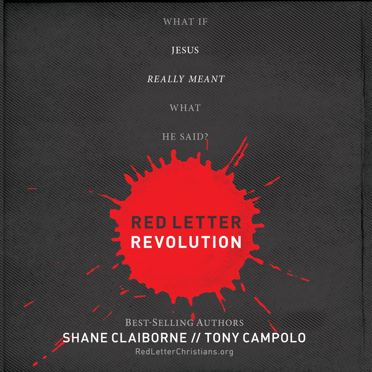 Printable Red Letter Revolution: What If Jesus Really Meant What He Said? Audiobook Cover Art