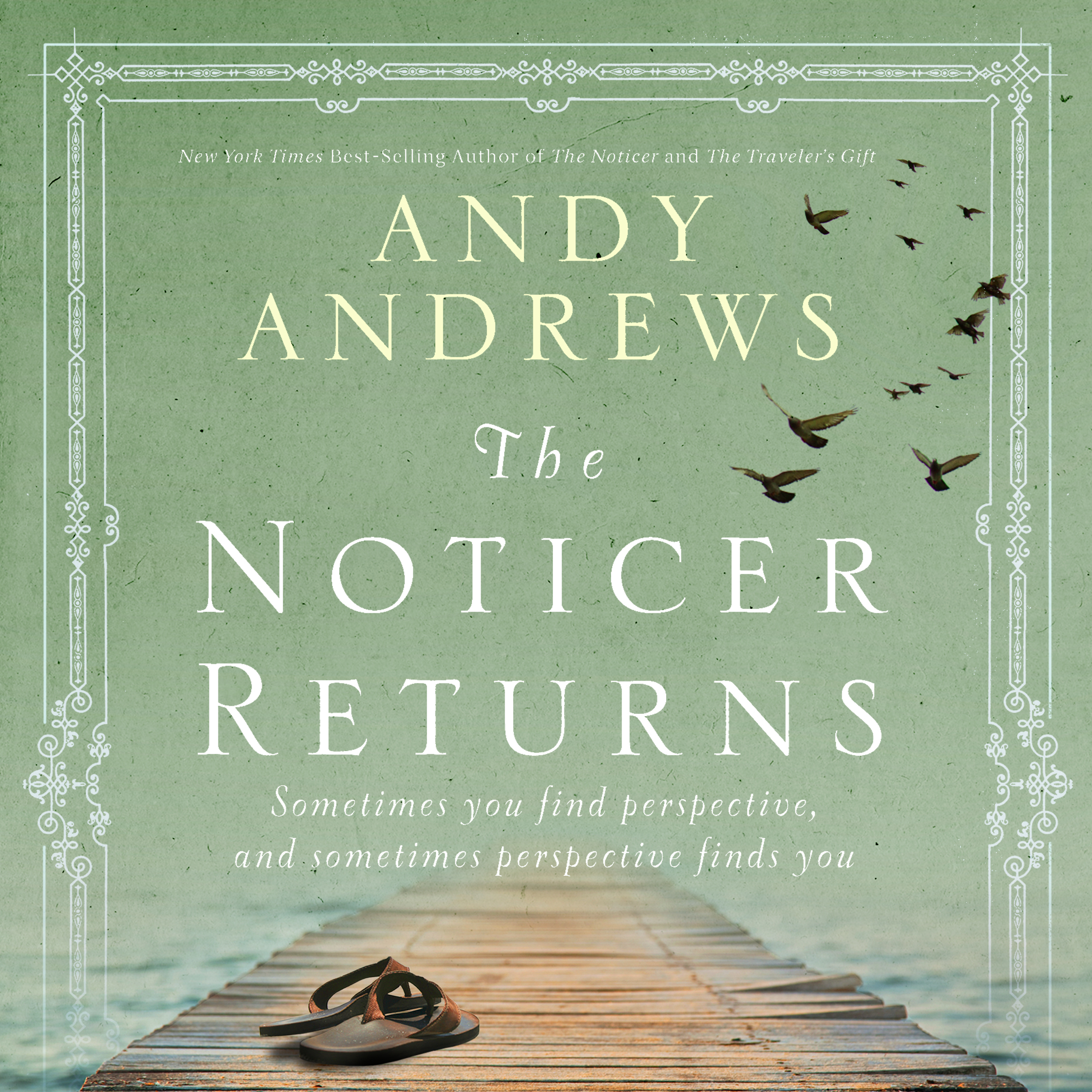 Printable The Noticer Returns: Sometimes You Find Perspective, and Sometimes Perspective Finds You Audiobook Cover Art