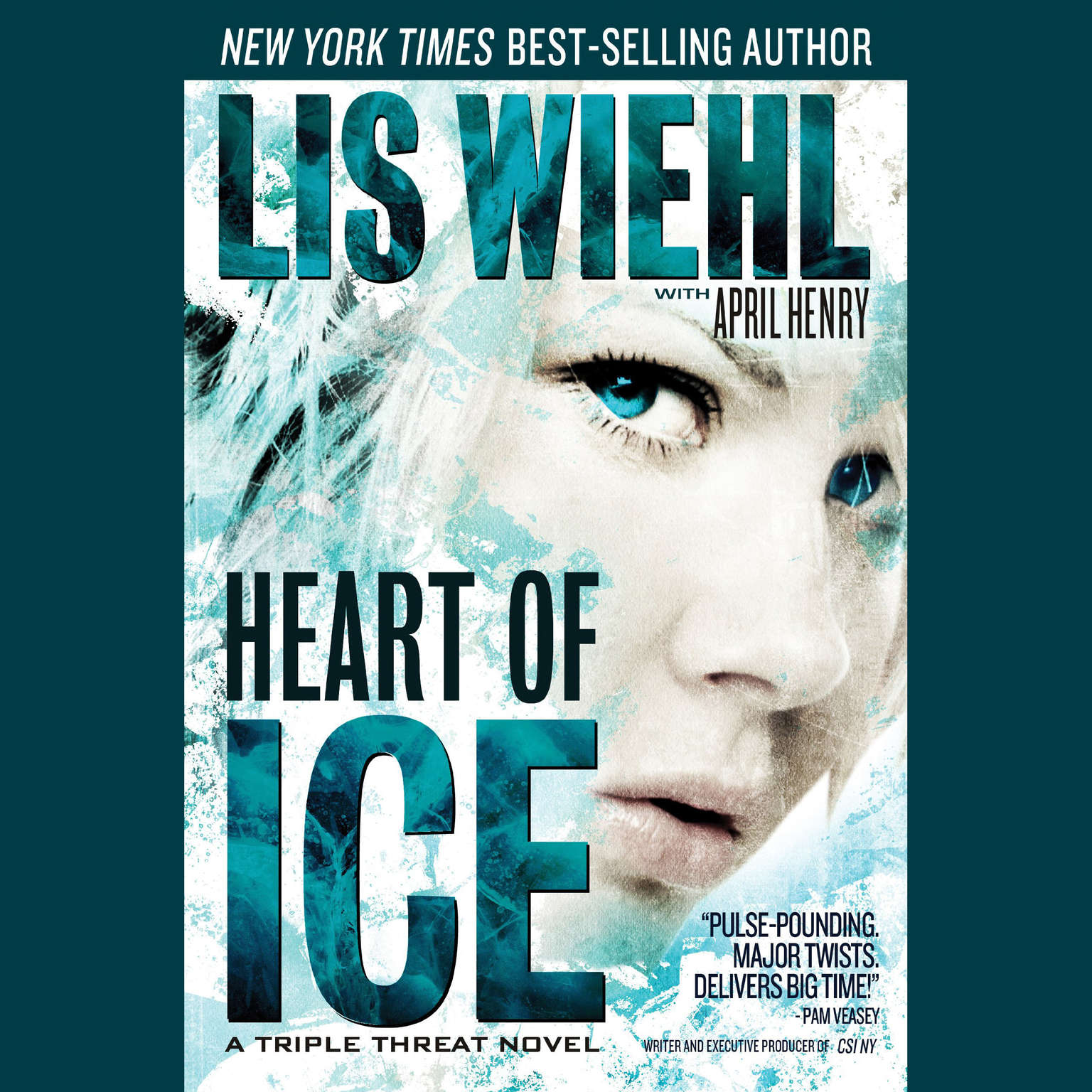 Printable Heart of Ice: A Triple Threat Novel Audiobook Cover Art