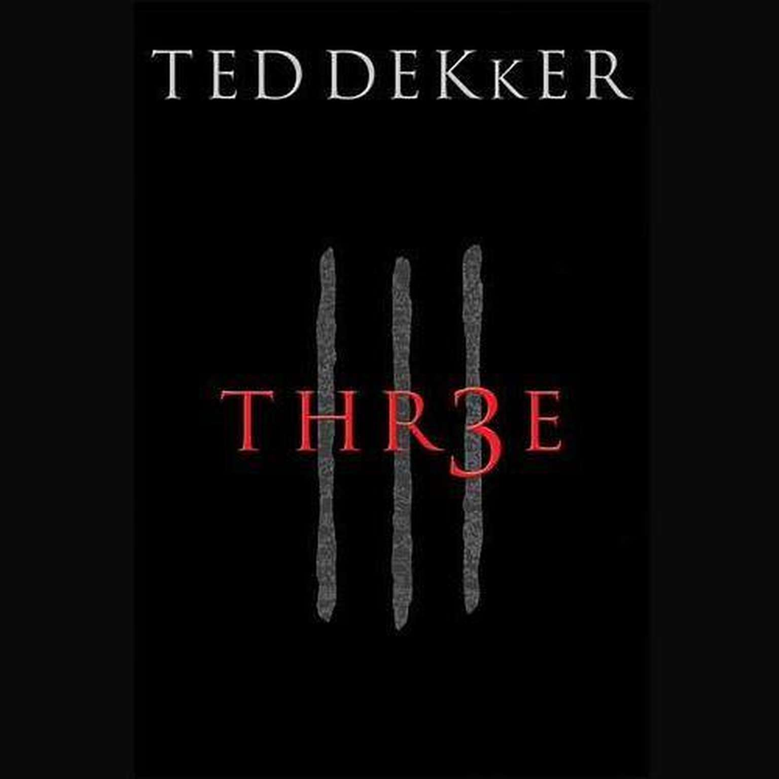 Printable Thr3e Audiobook Cover Art