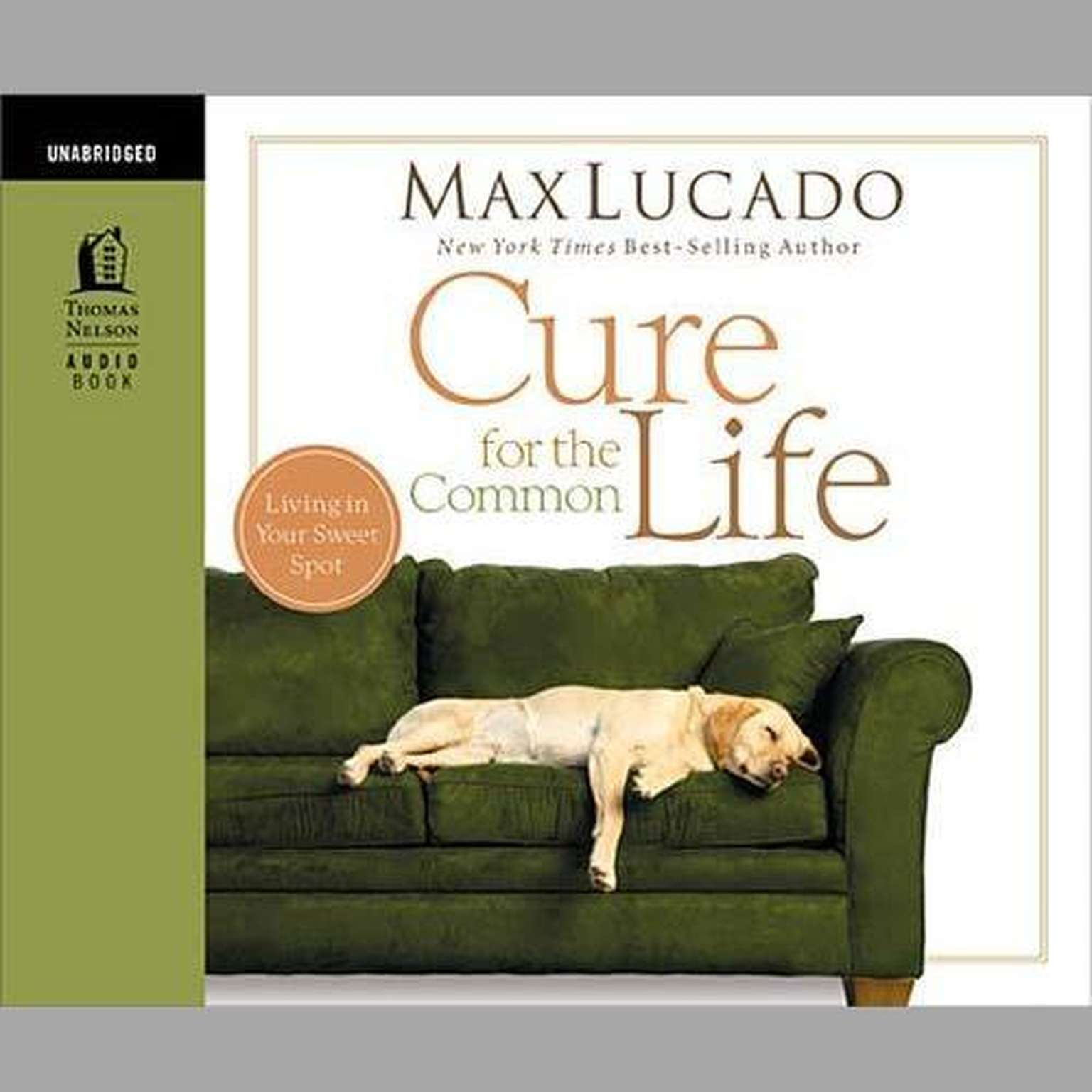 Printable Cure for the Common Life Audiobook Cover Art