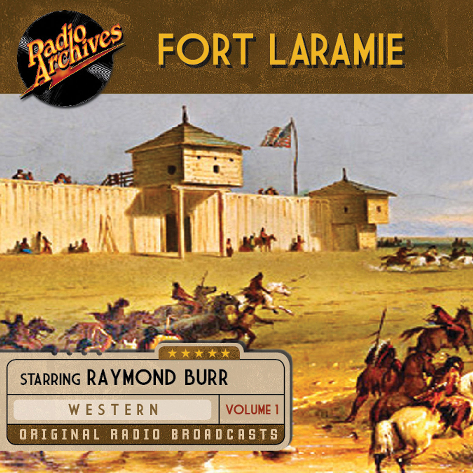 Printable Fort Laramie, Volume 1 Audiobook Cover Art