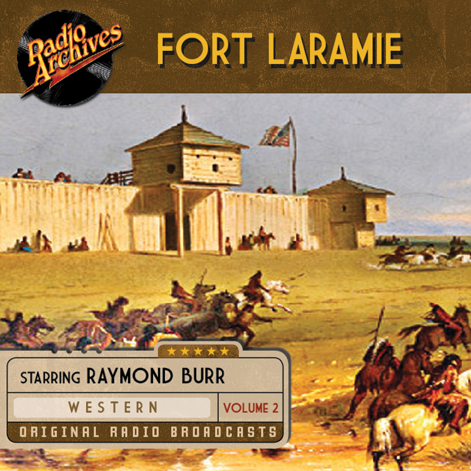 Printable Fort Laramie, Volume 2 Audiobook Cover Art