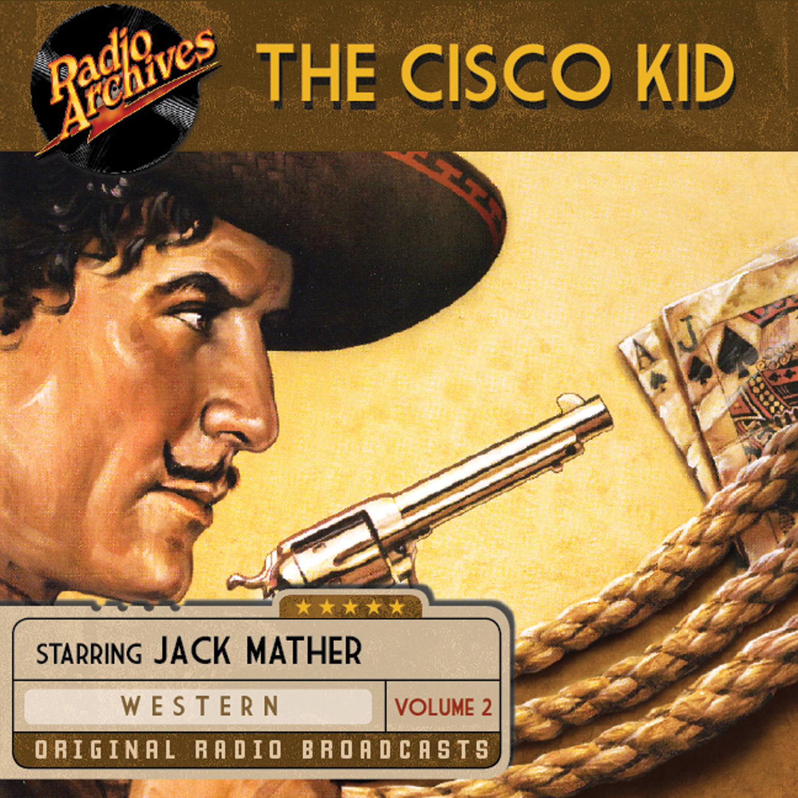 Printable The Cisco Kid, Volume 2 Audiobook Cover Art
