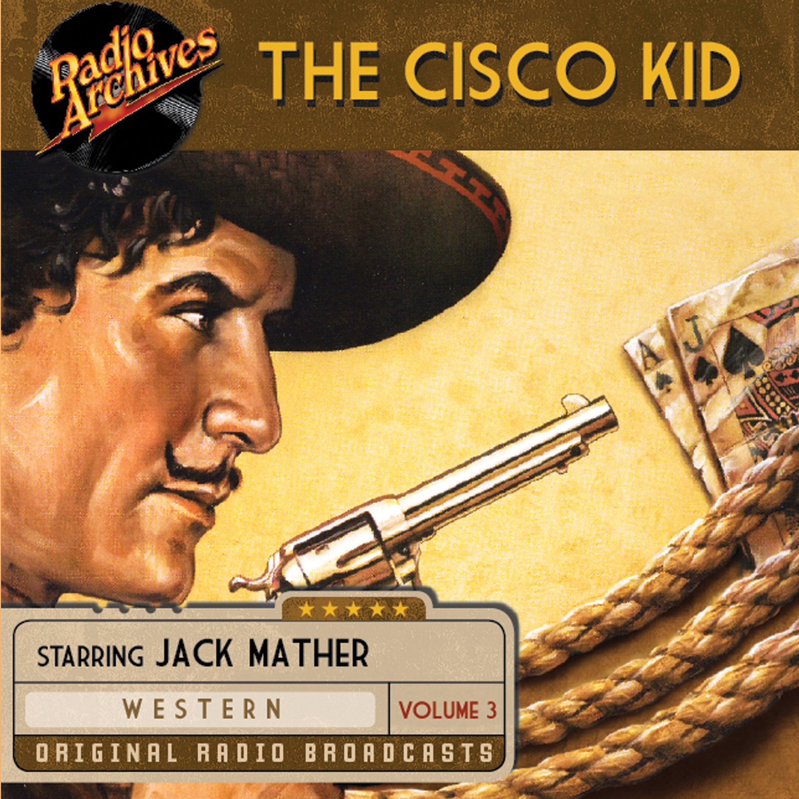 Printable The Cisco Kid, Volume 3 Audiobook Cover Art