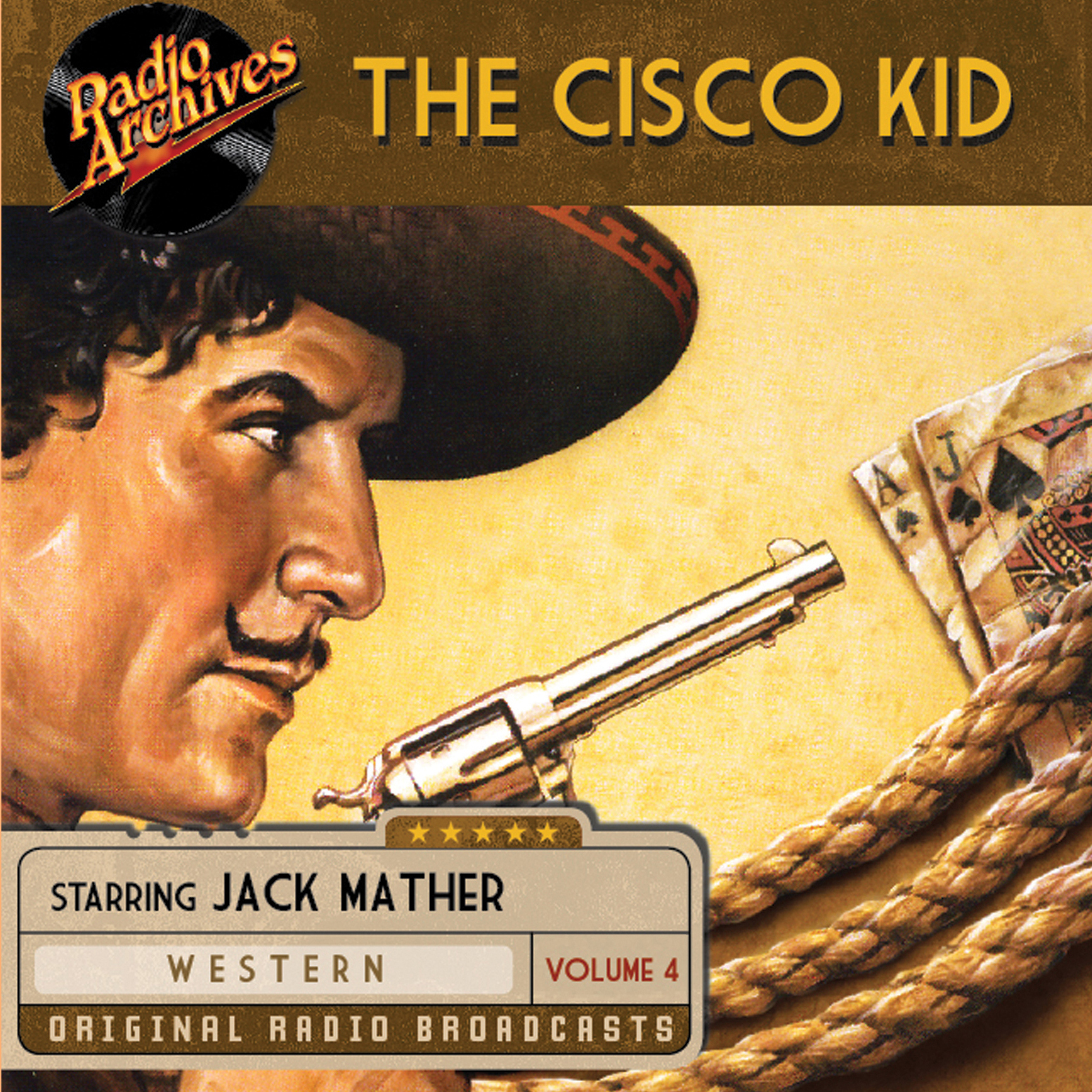 Printable The Cisco Kid, Volume 4 Audiobook Cover Art