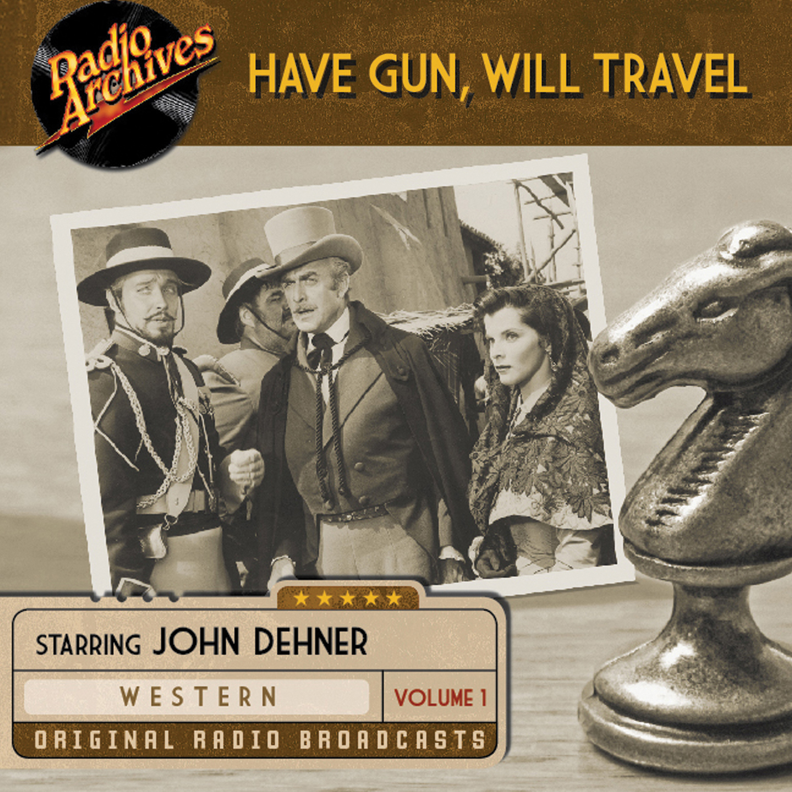 Printable Have Gun, Will Travel, Volume 1 Audiobook Cover Art