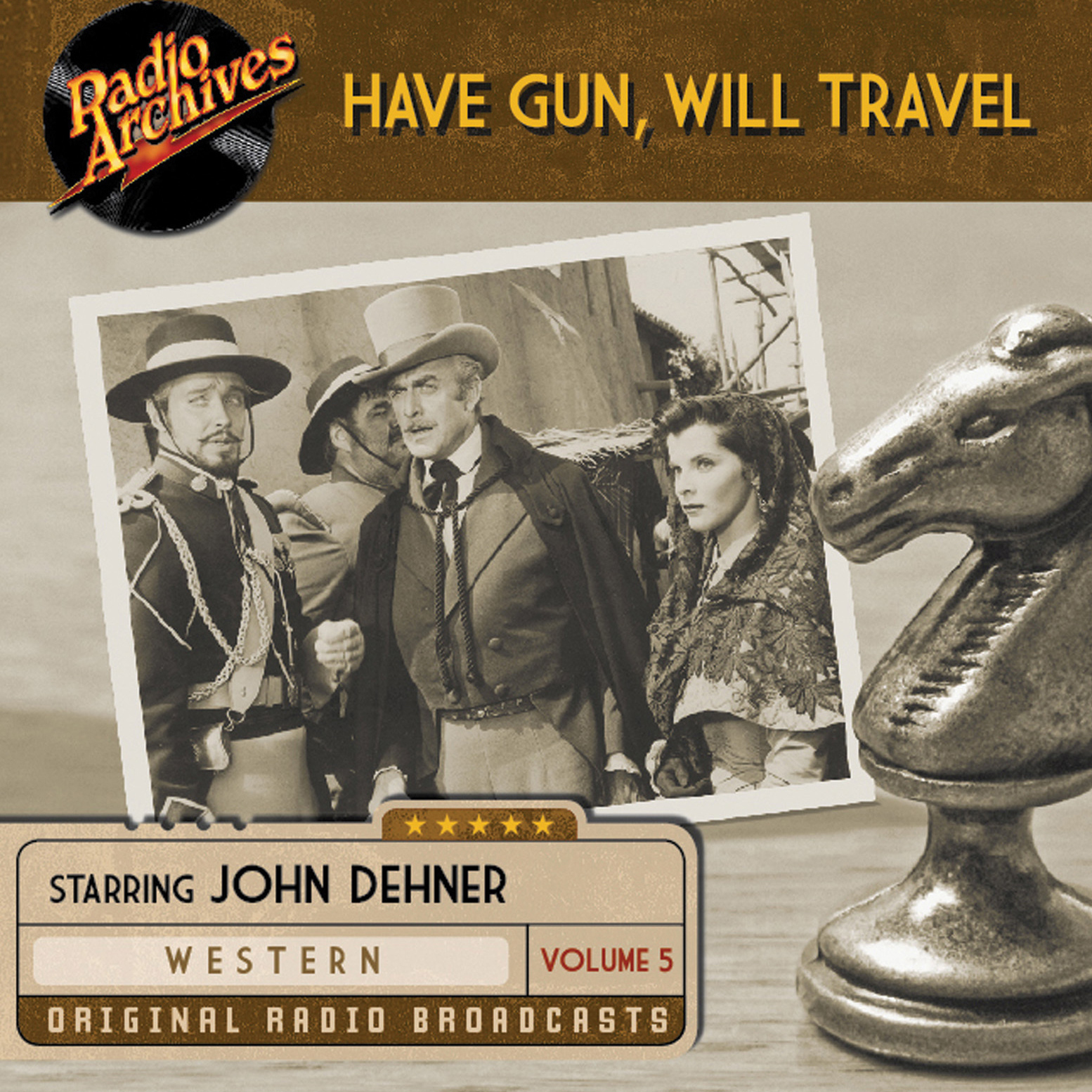 Printable Have Gun, Will Travel, Volume 5 Audiobook Cover Art