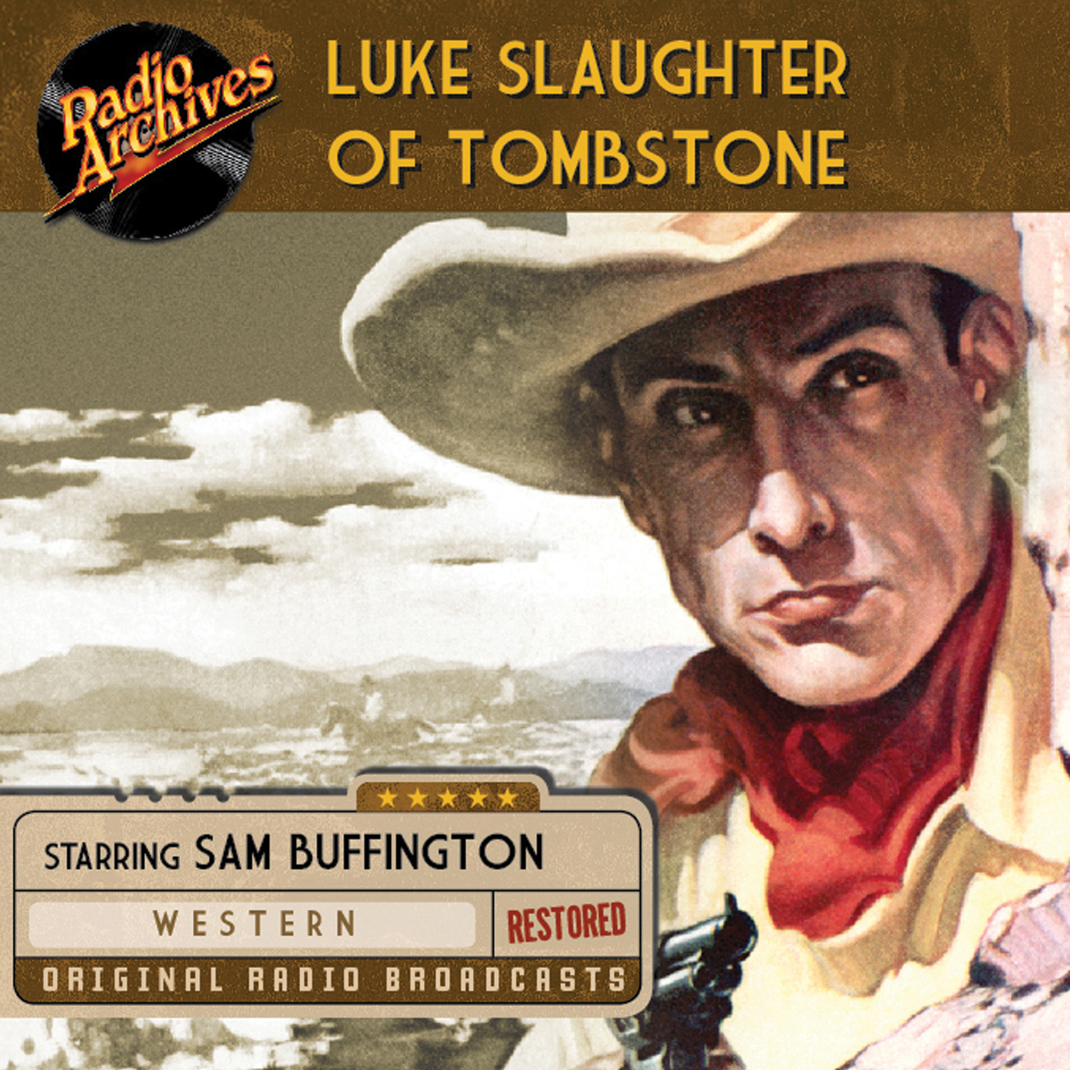 Printable Luke Slaughter of Tombstone Audiobook Cover Art