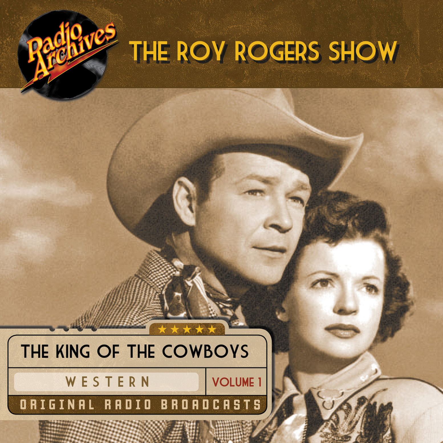 Printable Roy Rogers, Volume 1 Audiobook Cover Art