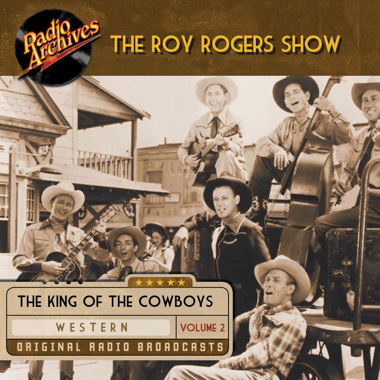 Printable Roy Rogers, Volume 2 Audiobook Cover Art