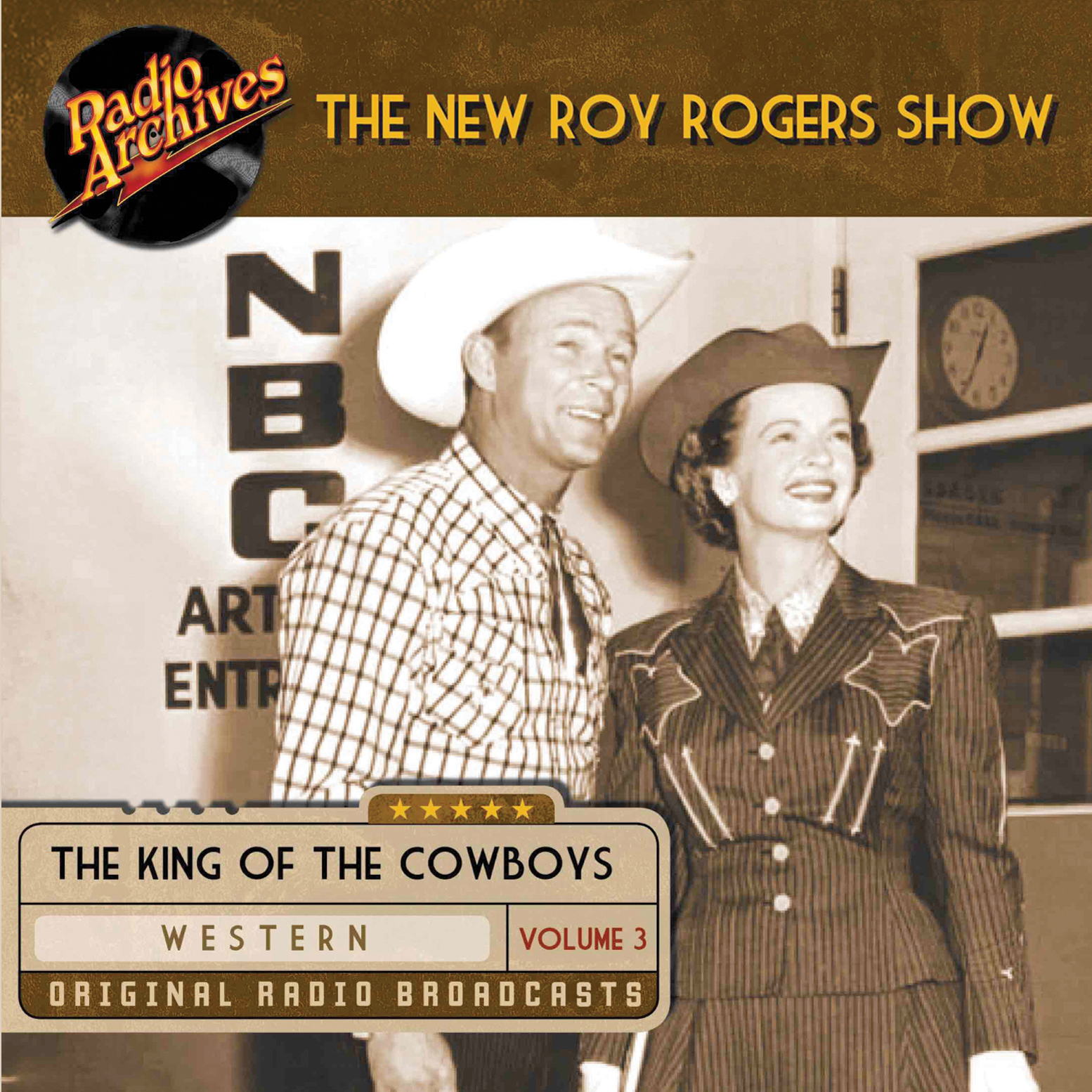 Printable Roy Rogers, Volume 3 Audiobook Cover Art