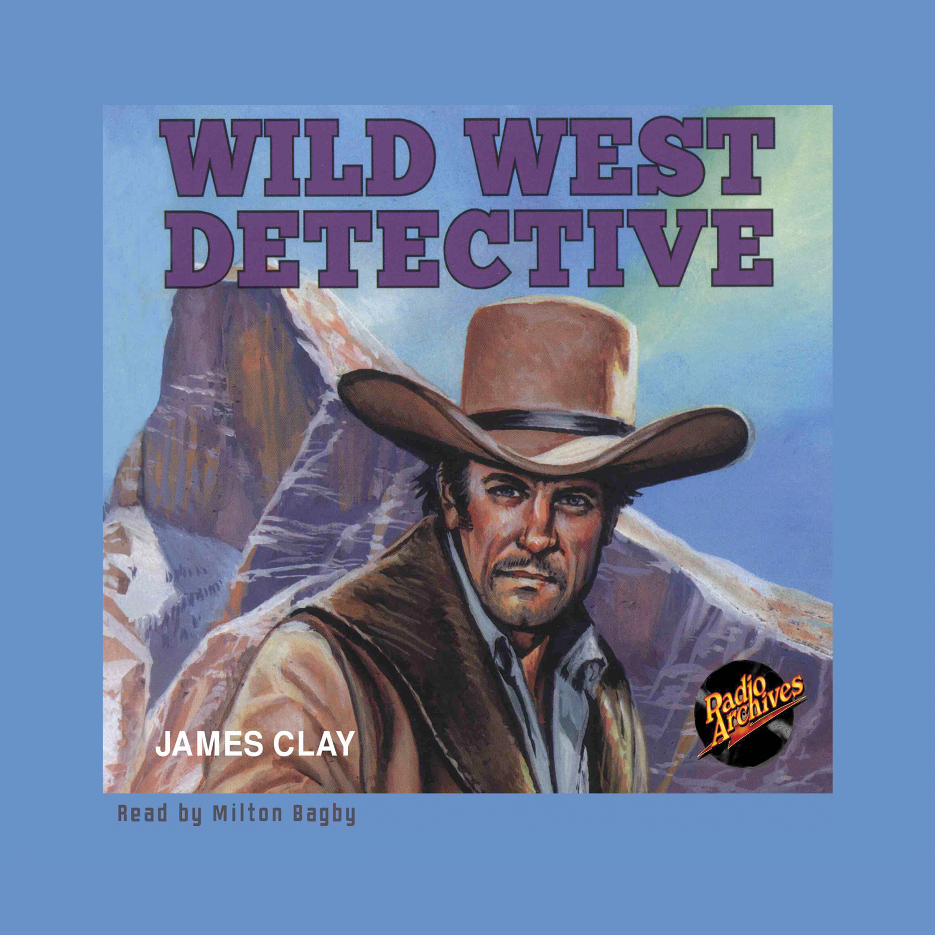 Printable Wild West Detective Audiobook Cover Art