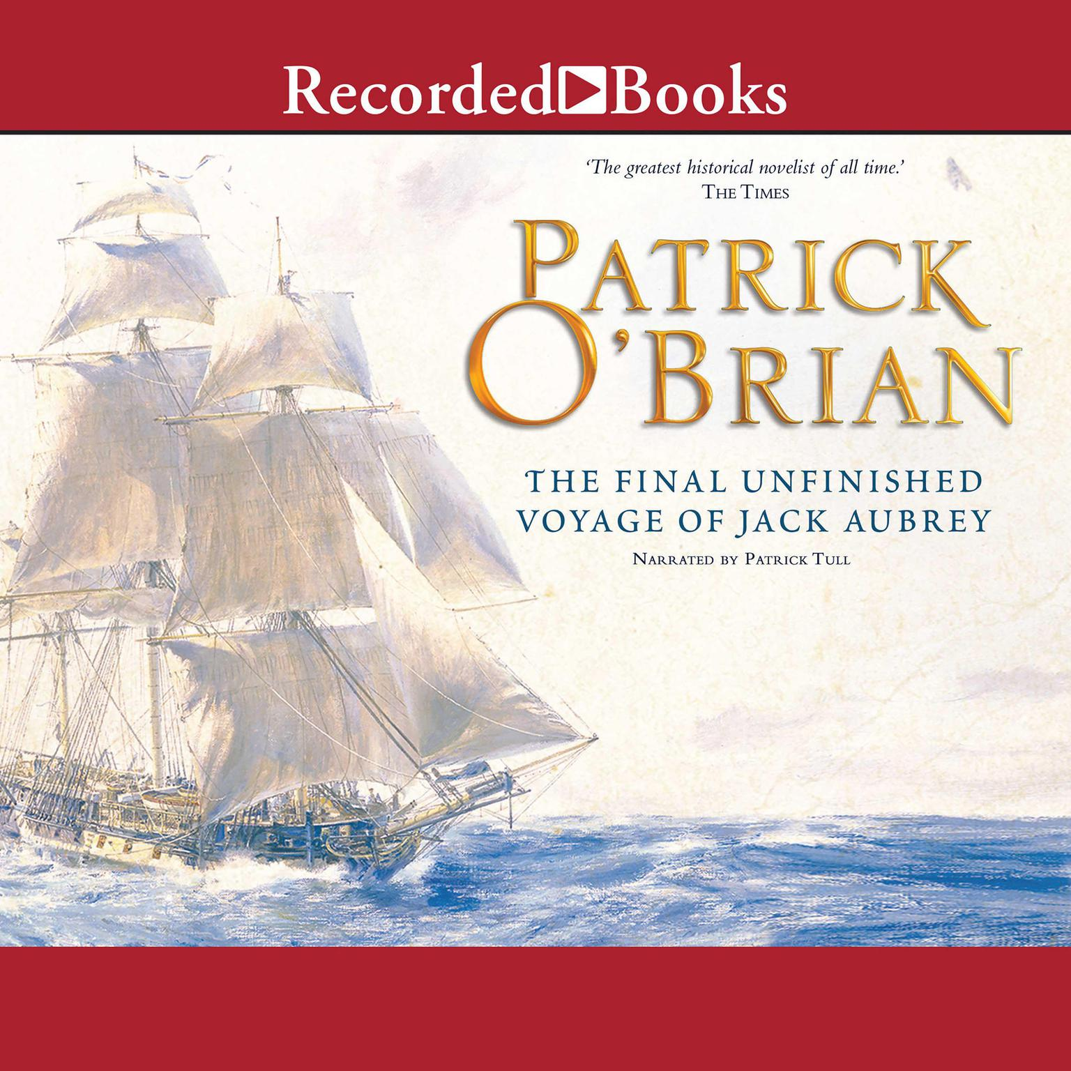 Printable 21: The Final Unfinished Voyage of Jack Aubrey Audiobook Cover Art