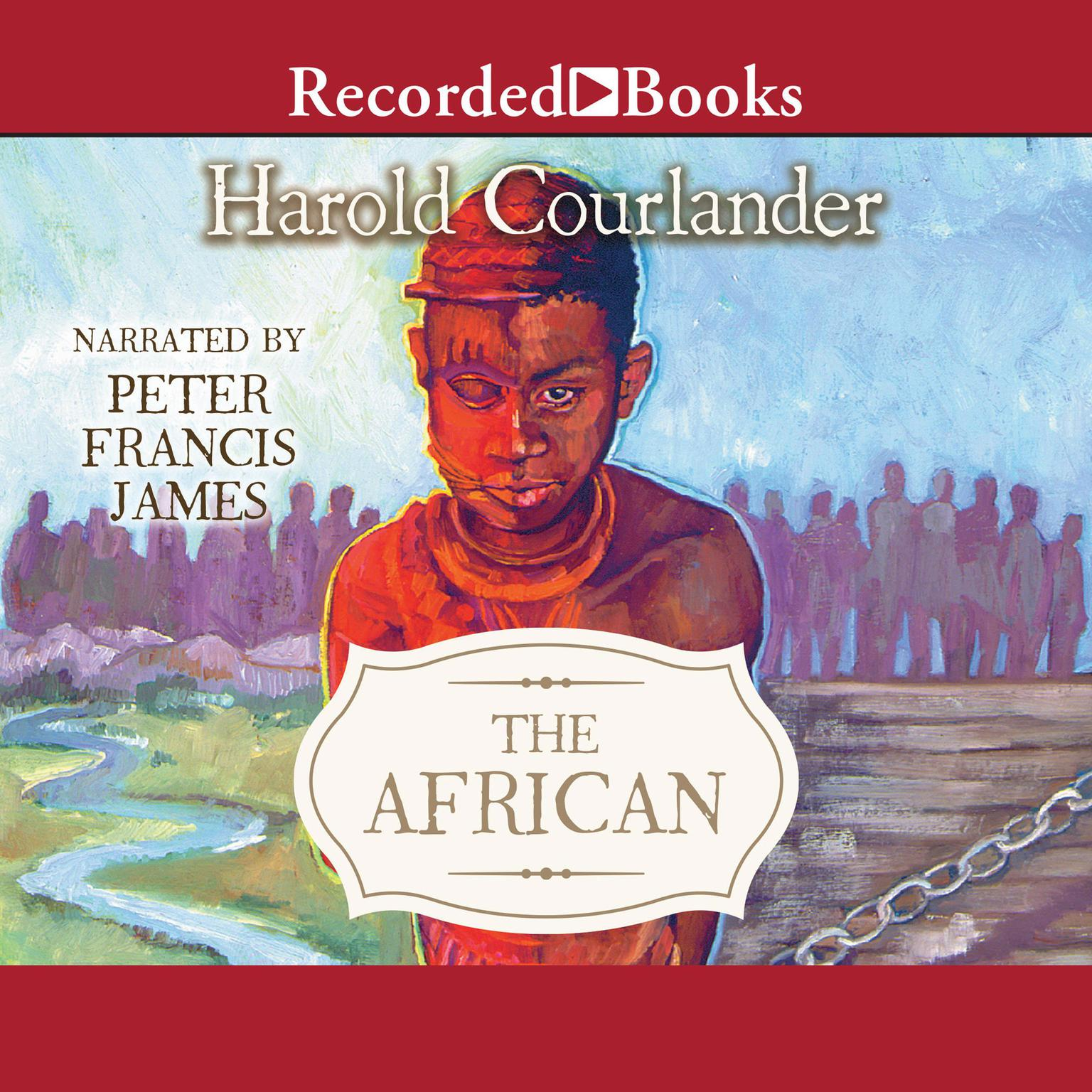 Printable The African Audiobook Cover Art