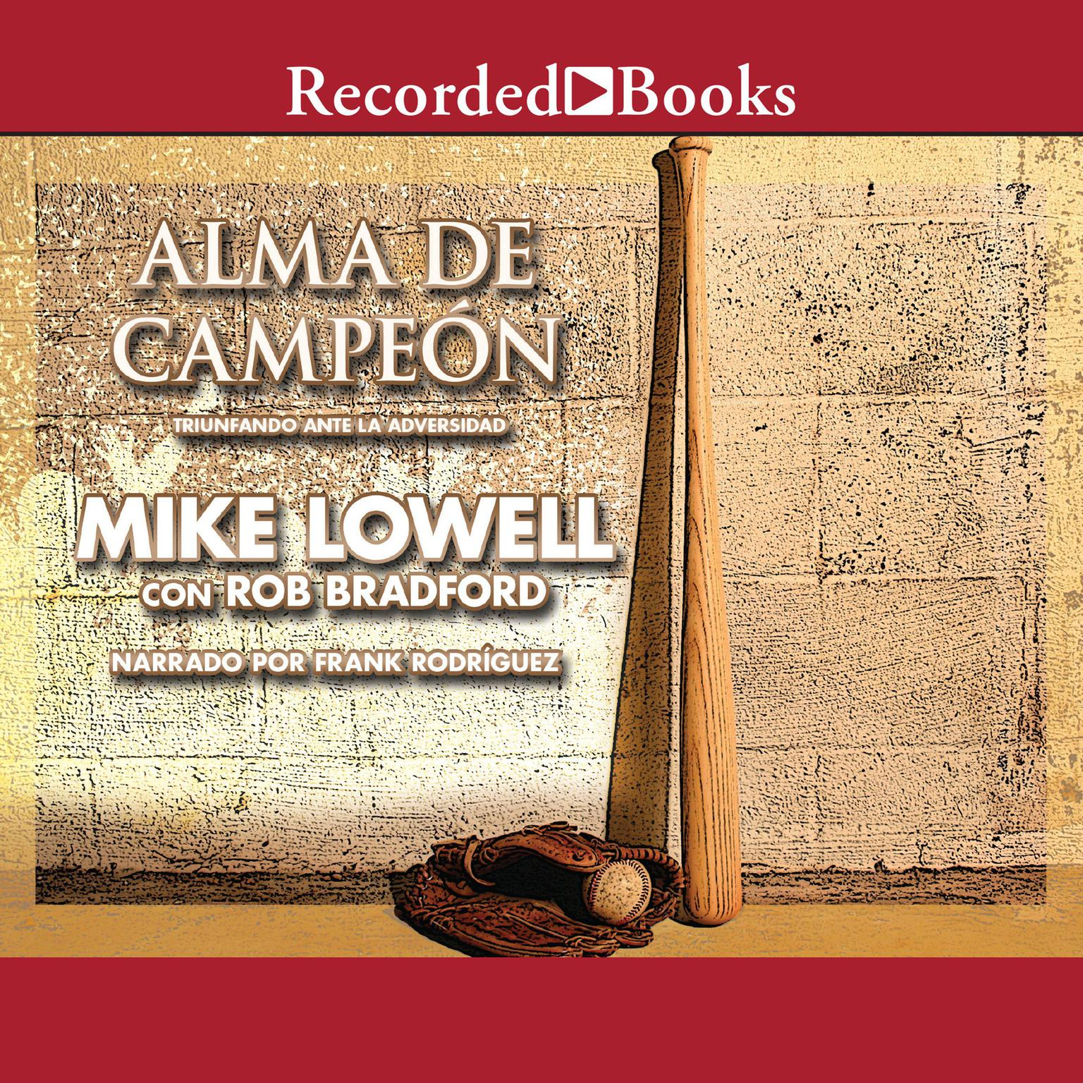 Printable Alma de campeon:  Triunfando ante la adversidad Audiobook Cover Art