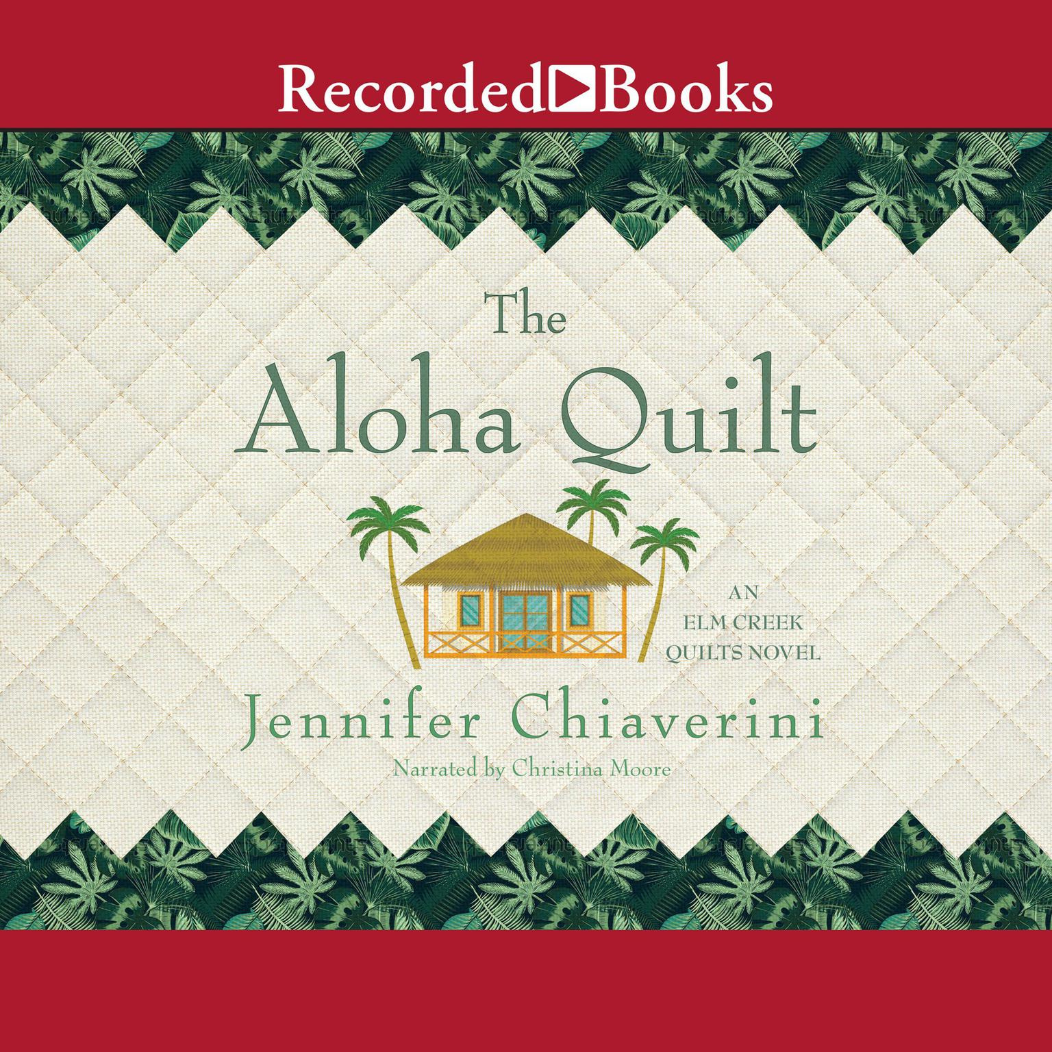 Printable Aloha Quilt Audiobook Cover Art