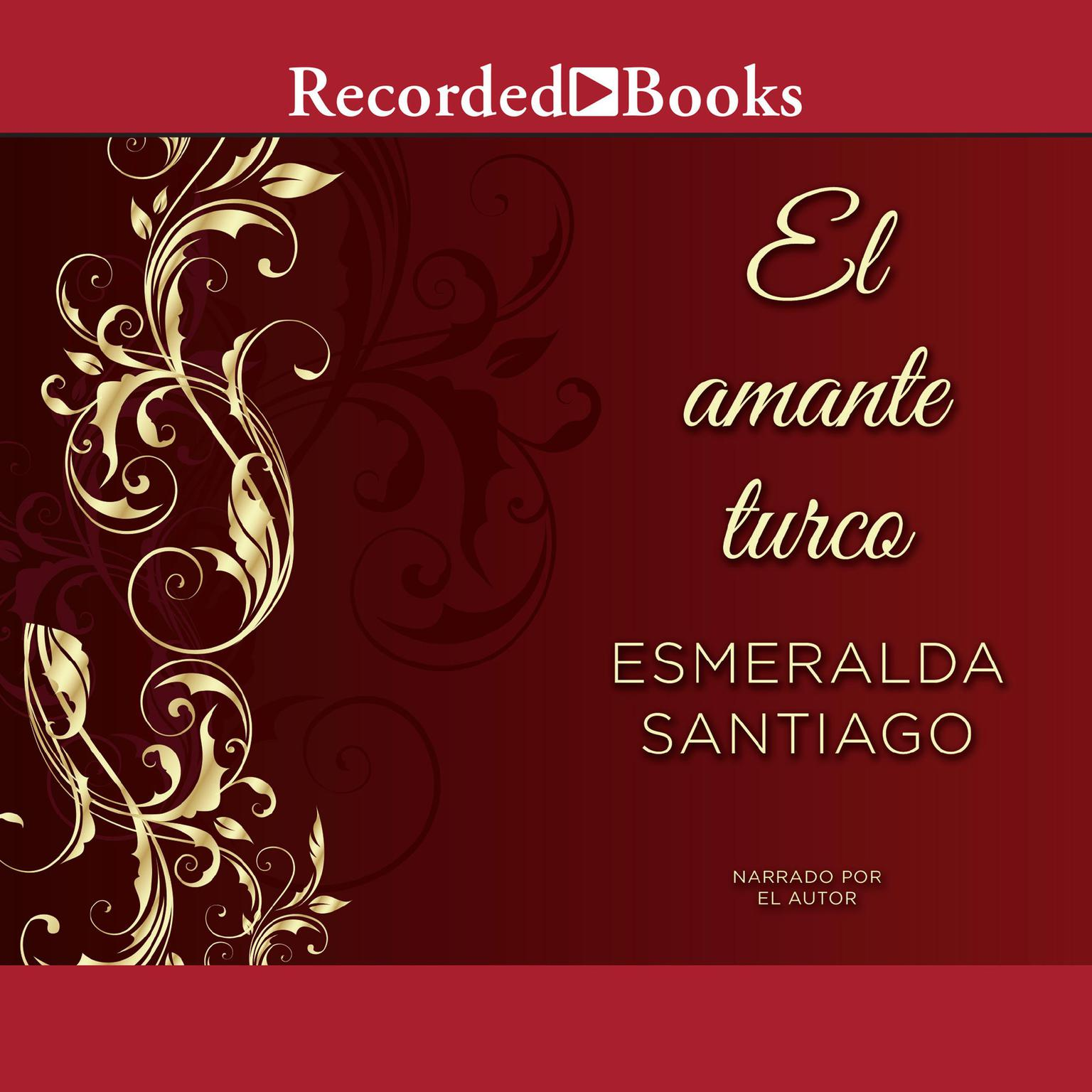 Printable El amante turco Audiobook Cover Art