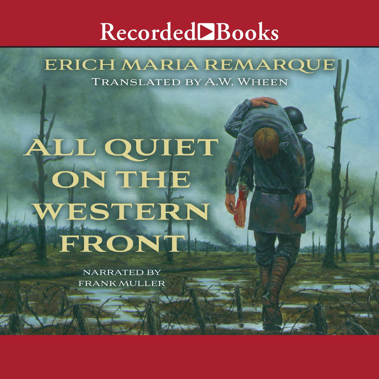 Printable All Quiet on the Western Front Audiobook Cover Art