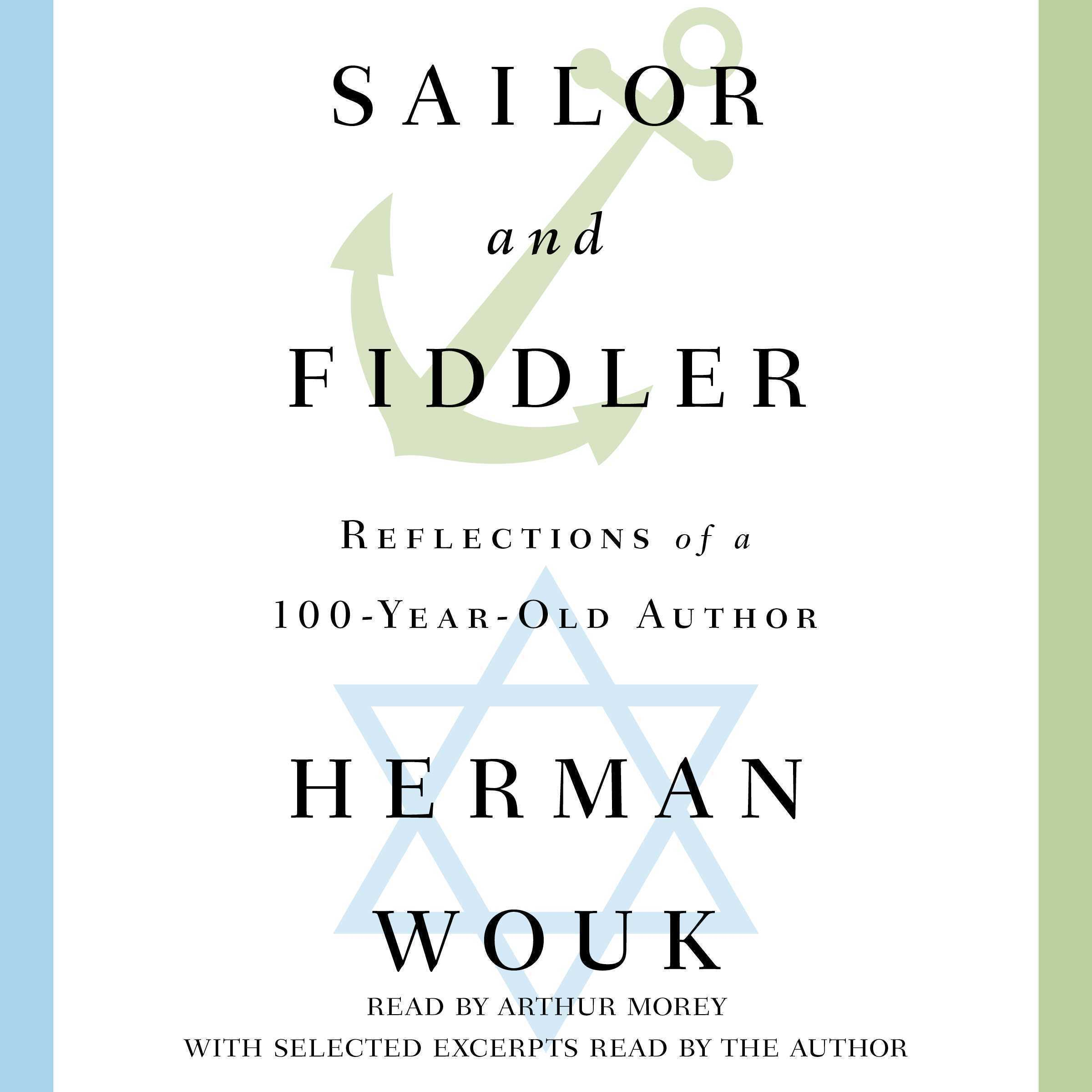 Printable Sailor and Fiddler: Reflections of a 100-Year-Old Author Audiobook Cover Art