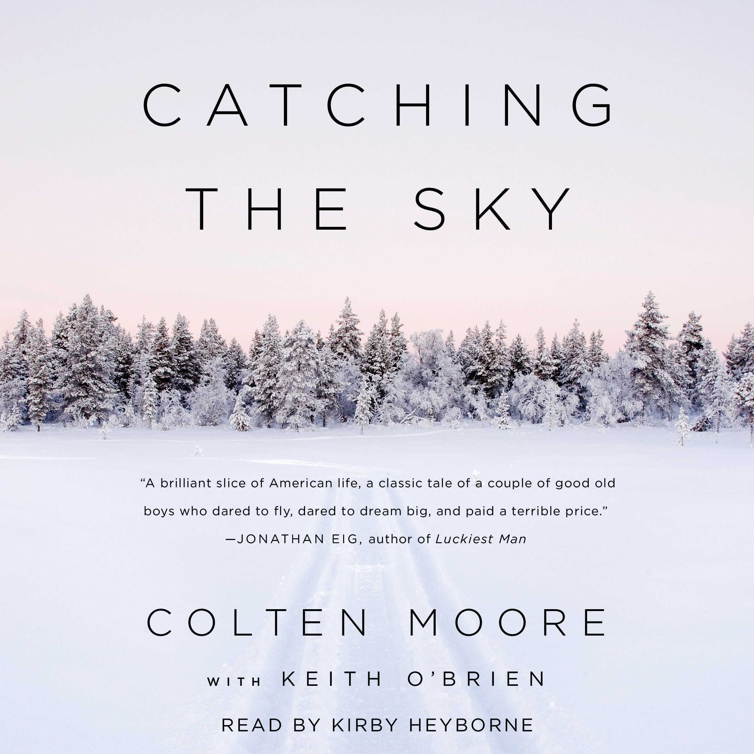 Printable Catching the Sky Audiobook Cover Art