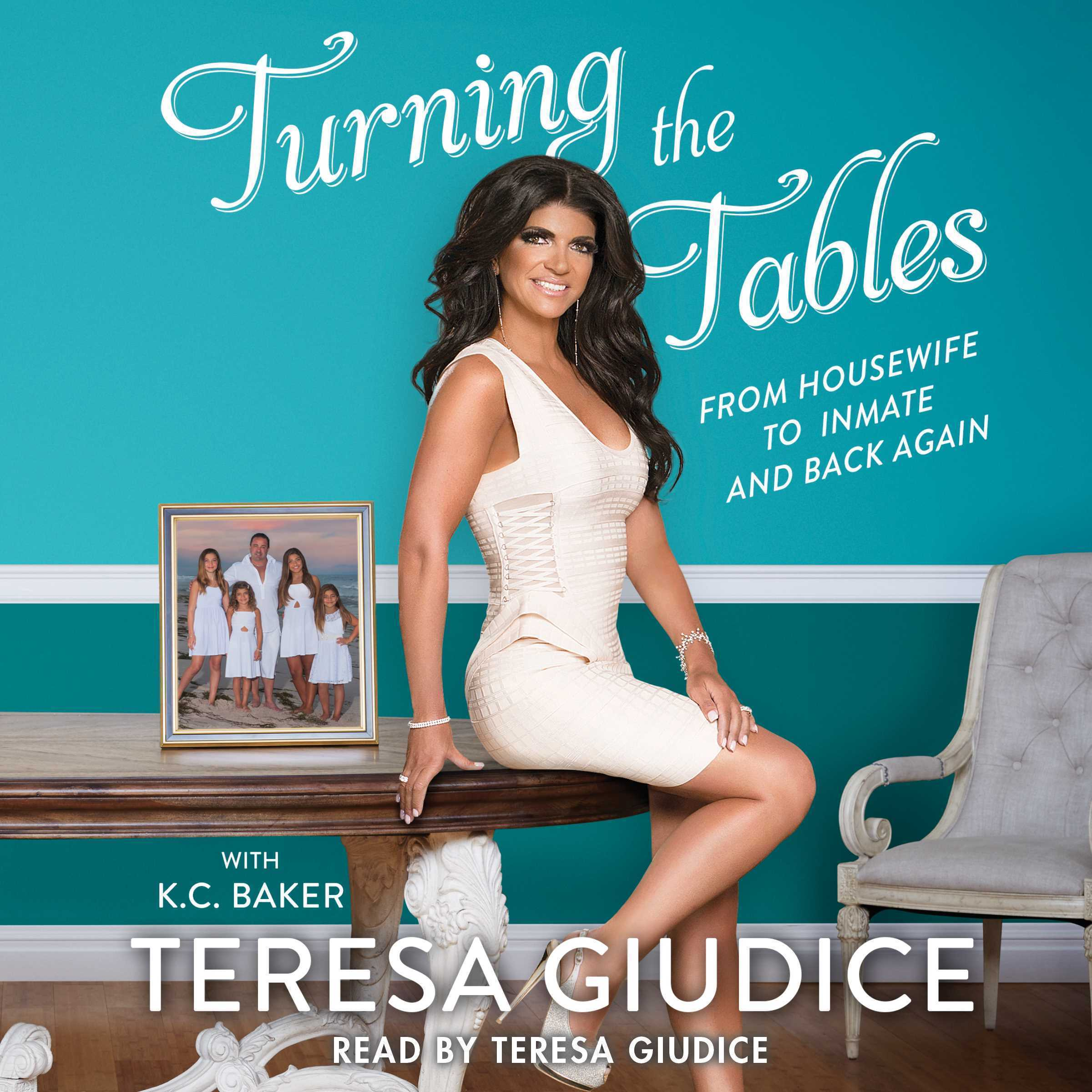 Printable Turning the Tables: From Housewife to Inmate and Back Again Audiobook Cover Art