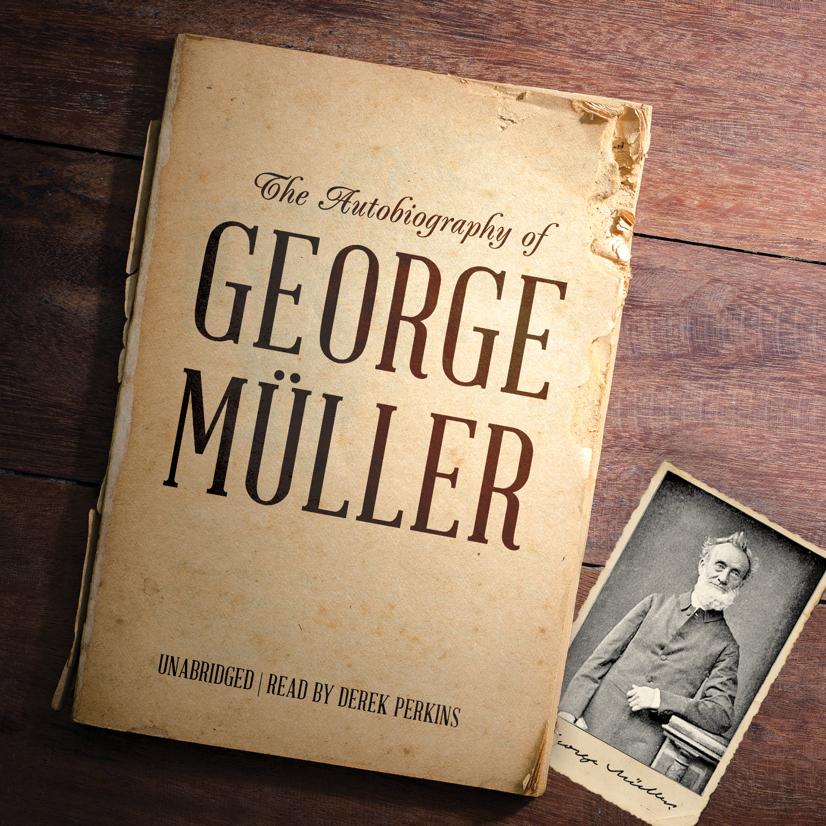 Printable The Autobiography of George Müller Audiobook Cover Art