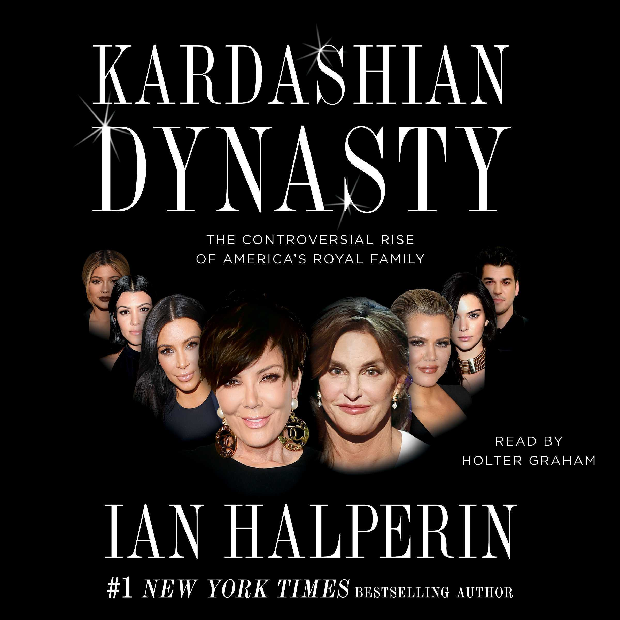 Printable Kardashian Dynasty Audiobook Cover Art