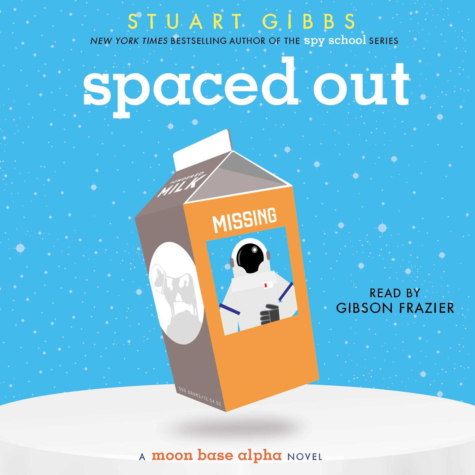 Printable Spaced Out: A Moon Base Alpha Novel Audiobook Cover Art
