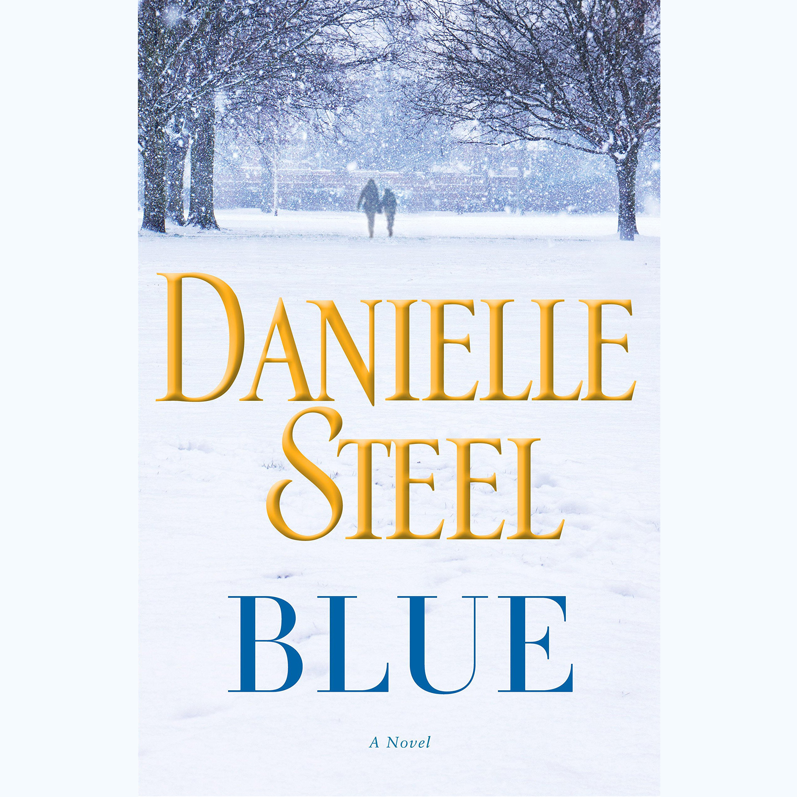 Printable Blue: A Novel Audiobook Cover Art