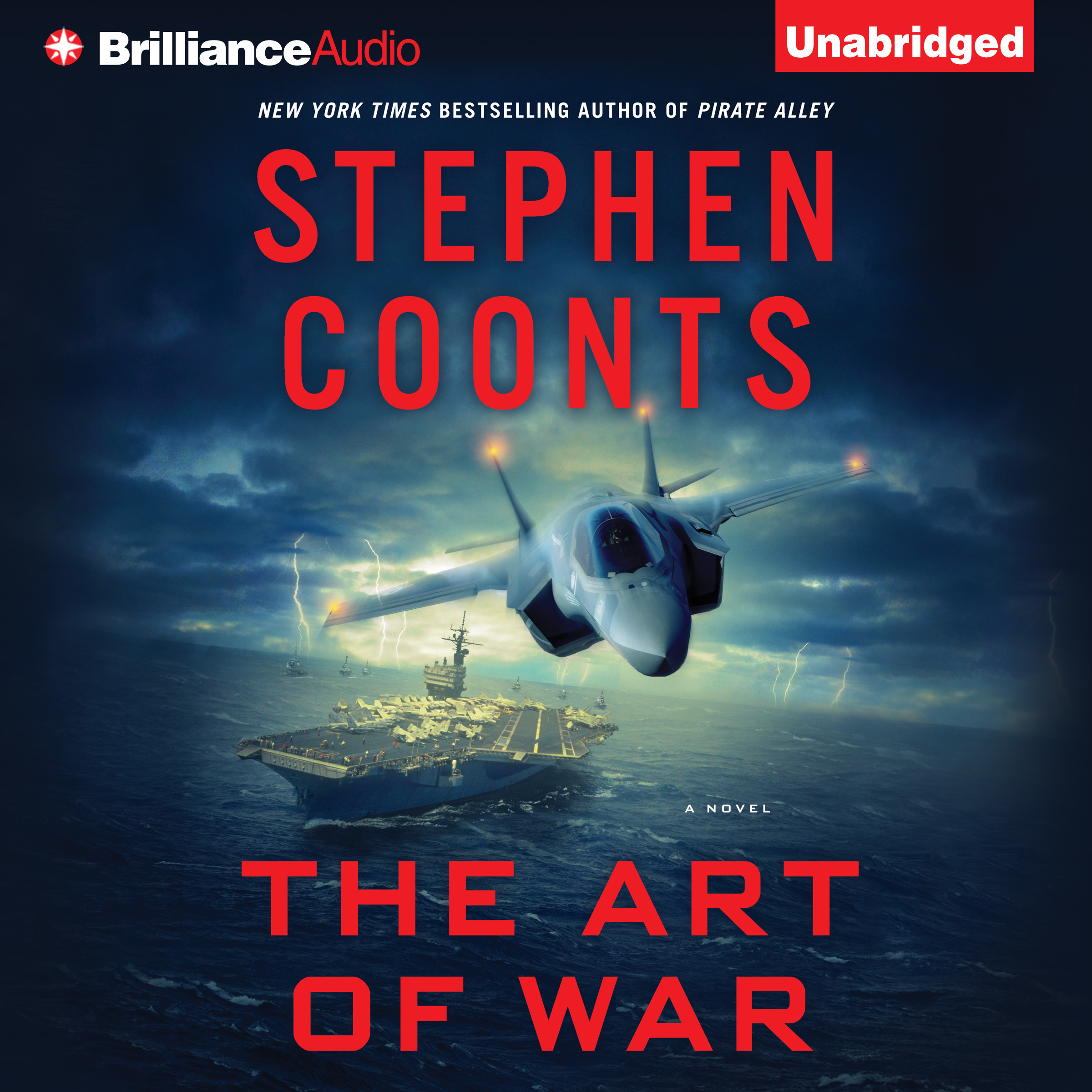 Printable The Art of War: A Novel Audiobook Cover Art