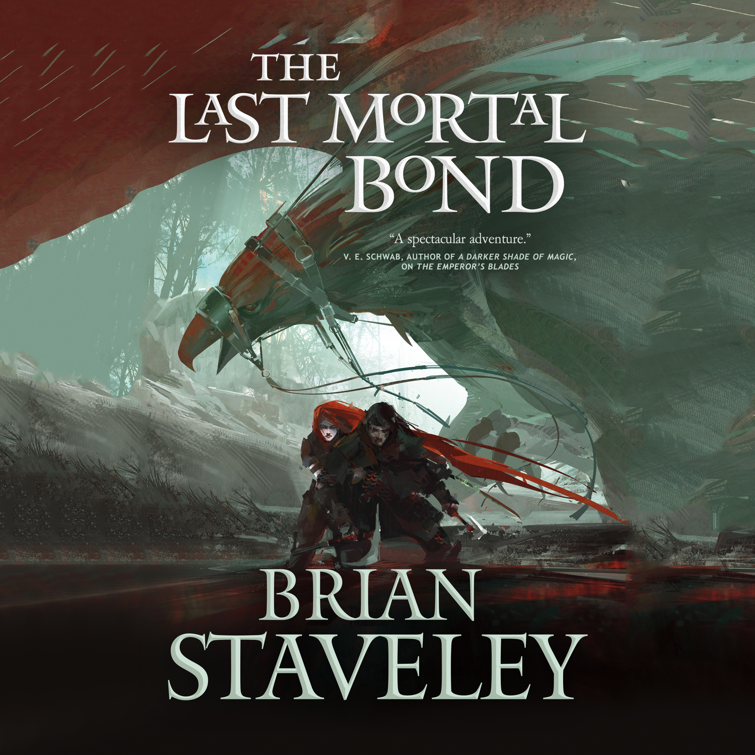 Printable The Last Mortal Bond Audiobook Cover Art